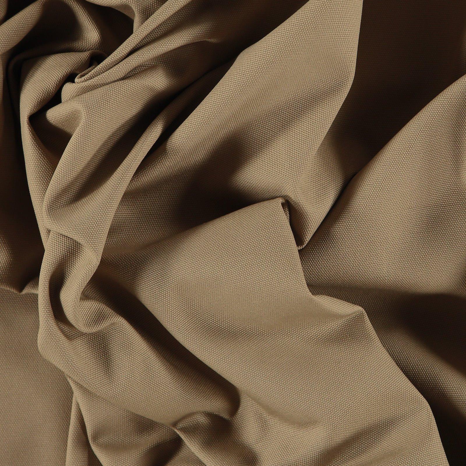 Cotton canvas dark beige