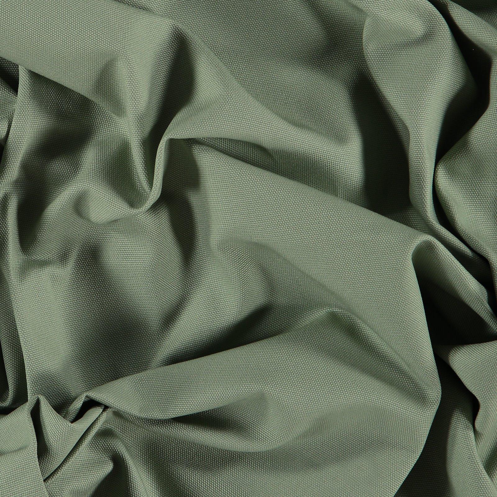 Cotton canvas light dusty green