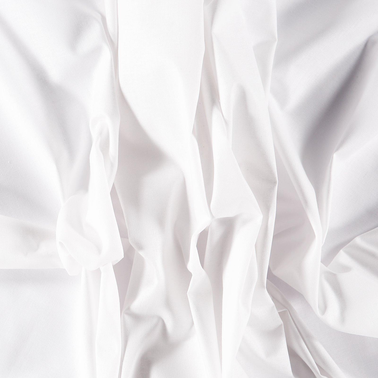 Organic cotton white