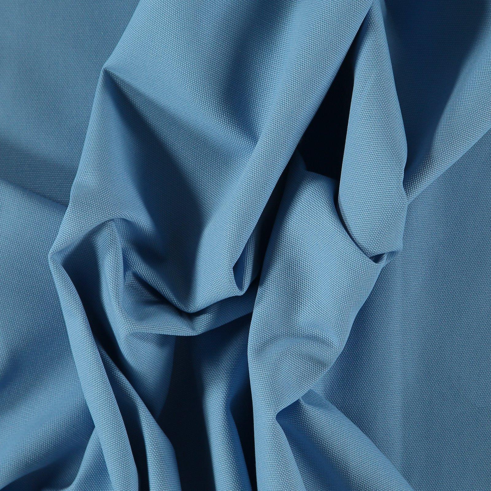 Cotton canvas light cobalt blue