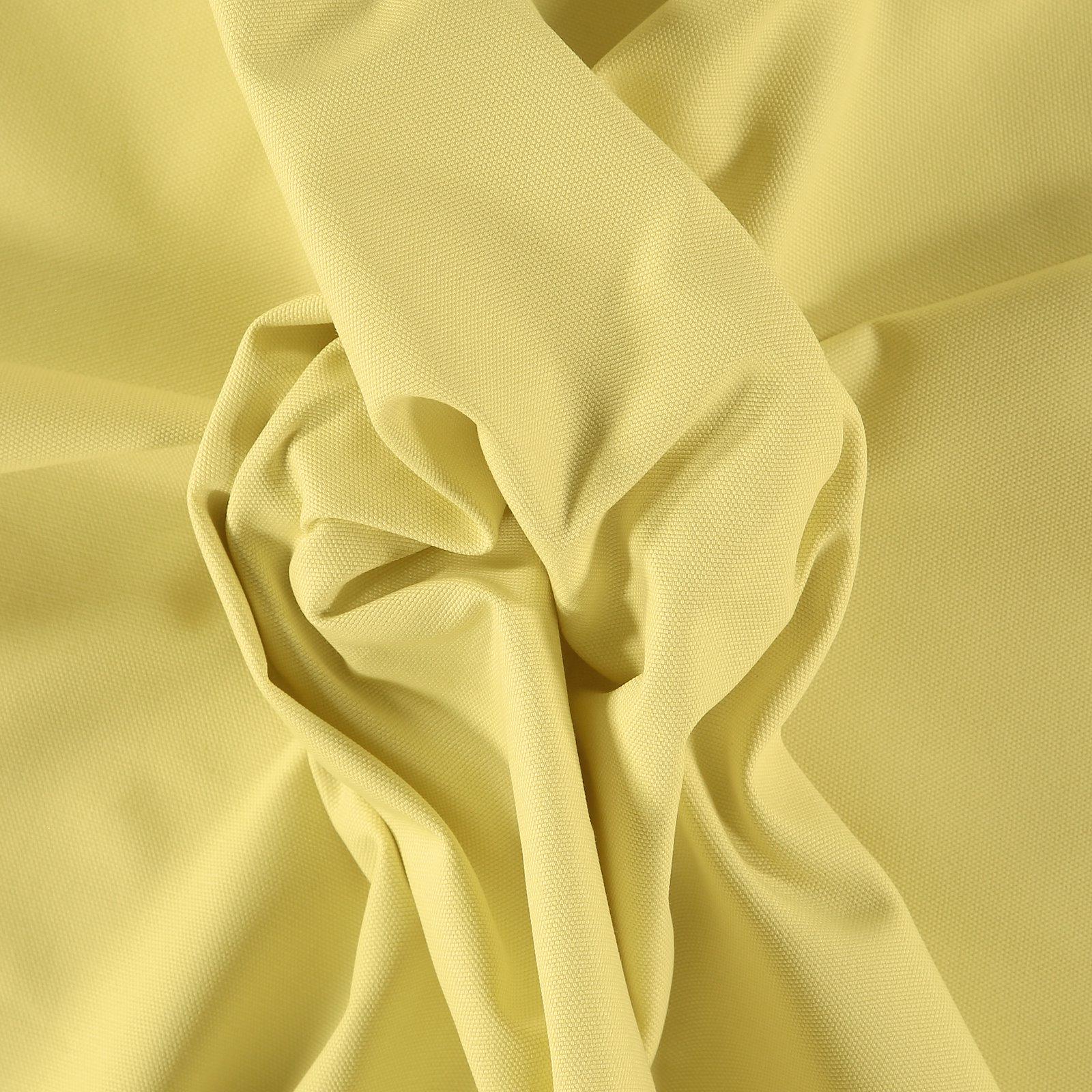 Cotton canvas light lemon