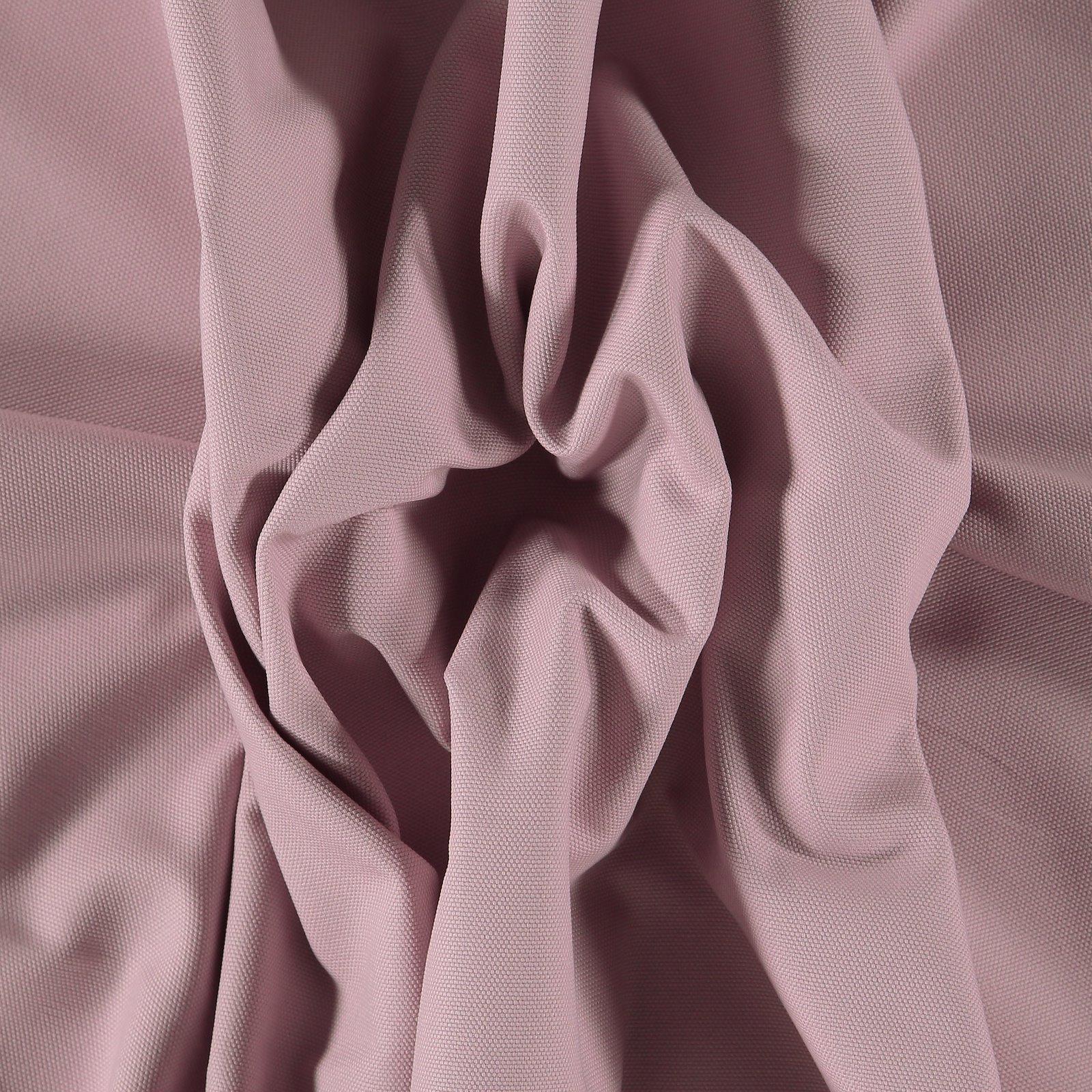 Cotton canvas light dusty violet