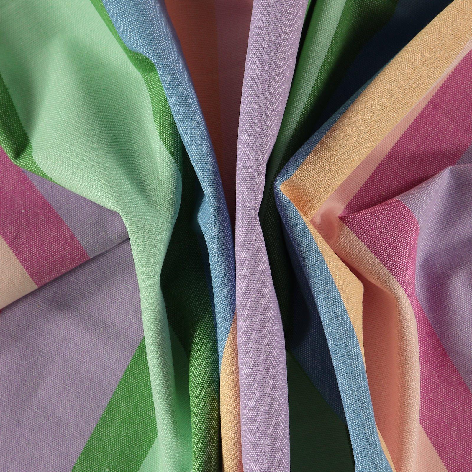 Canvas yarn dyed stripes