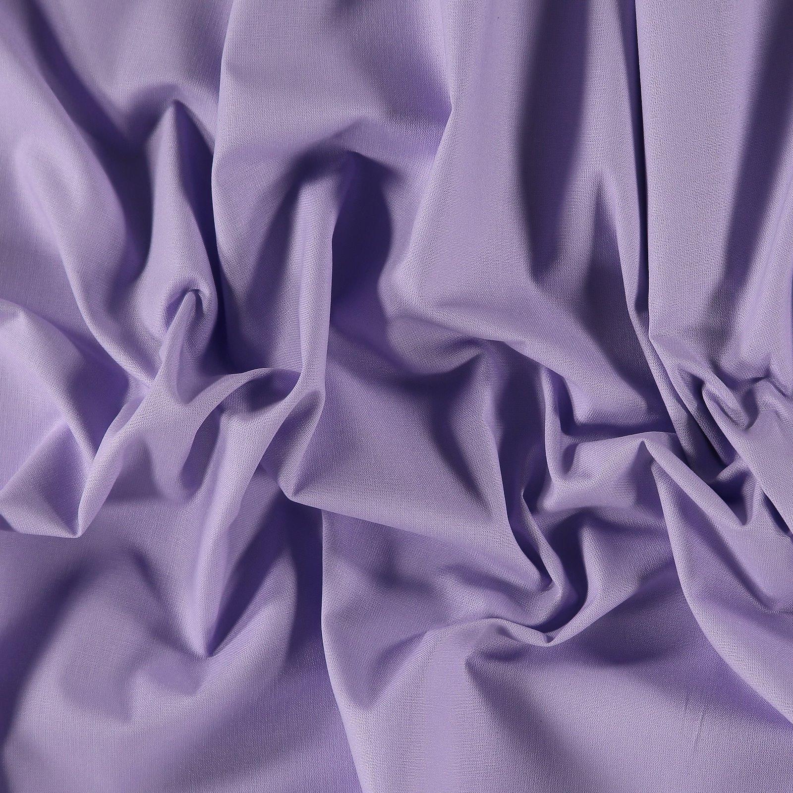 Organic cotton light lavender