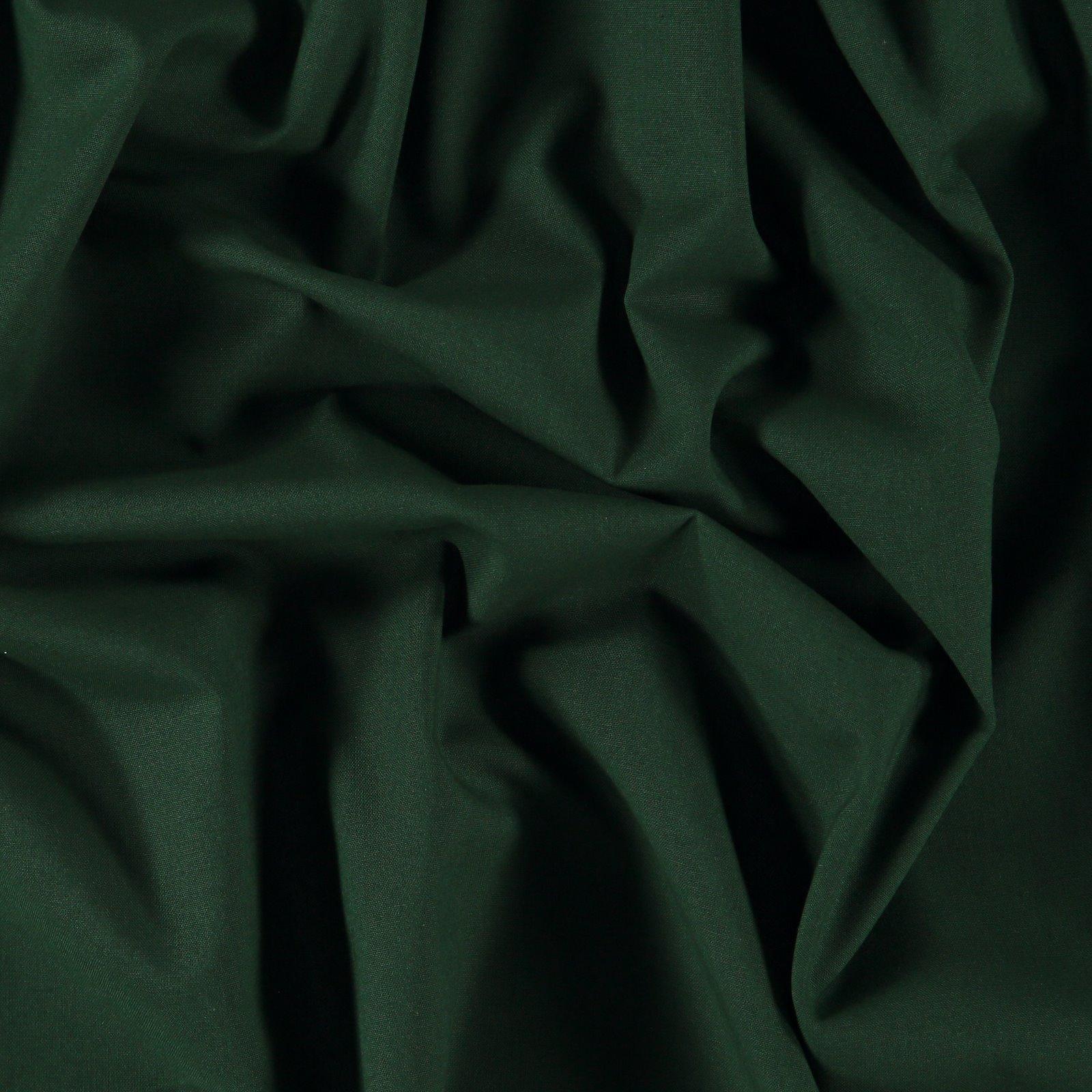 Organic cotton dark bottle green
