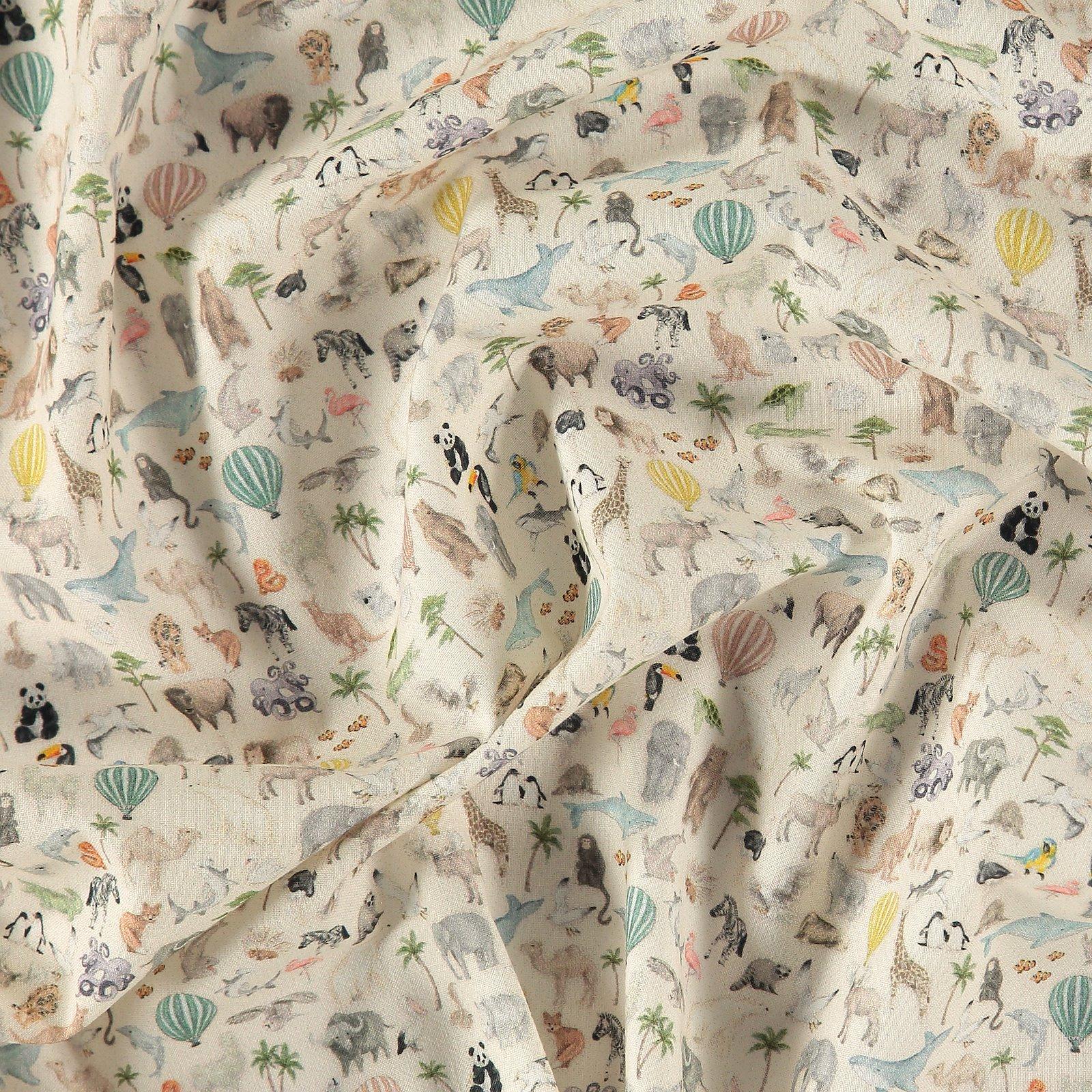 BCI Baumwolle, Off White kleinen Tieren