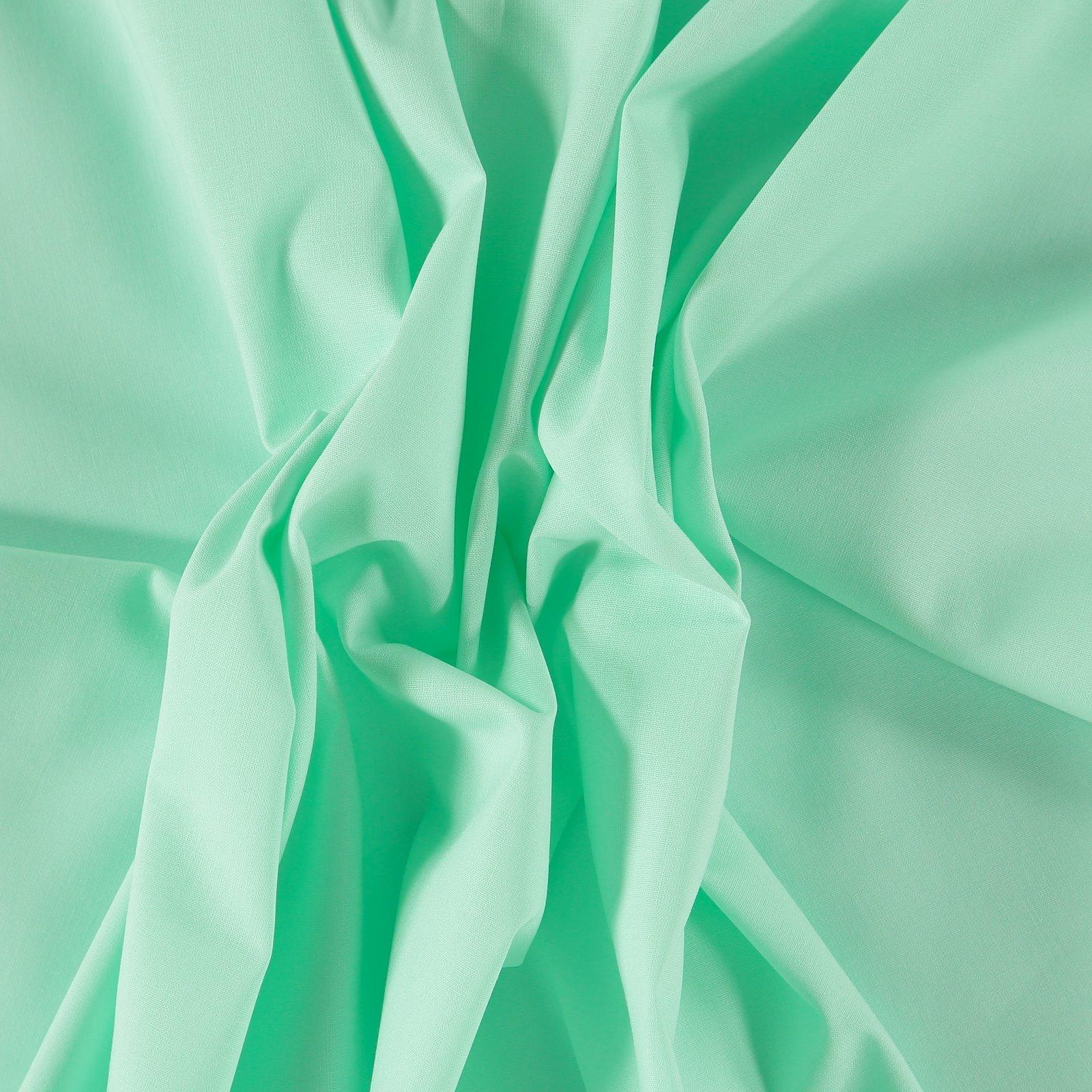 Organic cotton light mint