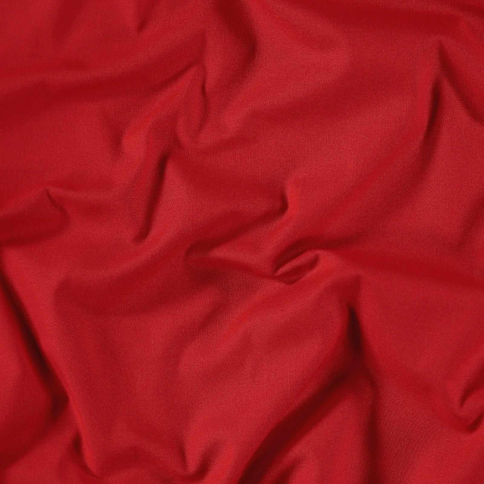 Organic cotton red