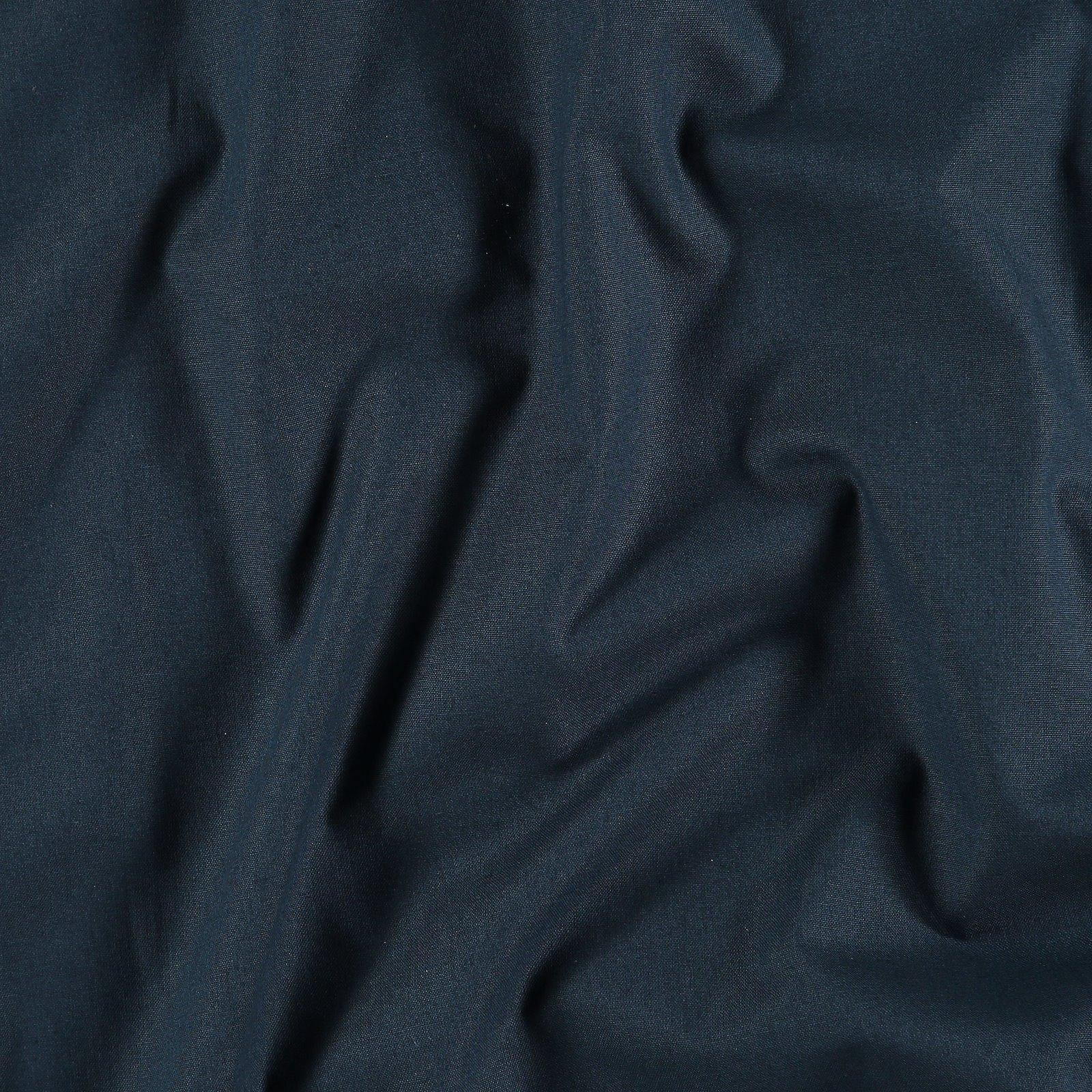 Organic cotton navy blue