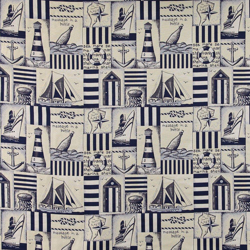 Gobelin blue/sand sailor look