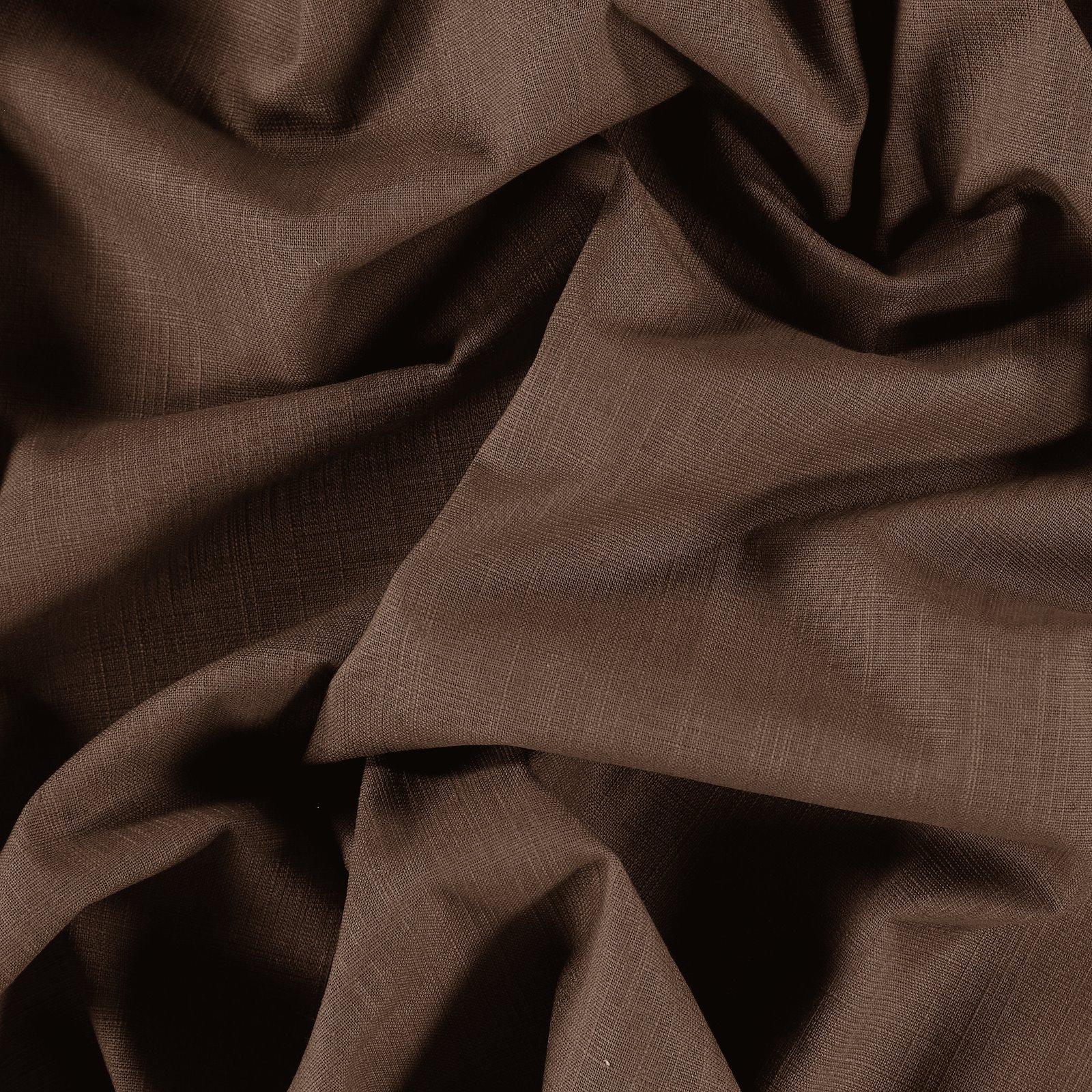 Yarn dyed brown