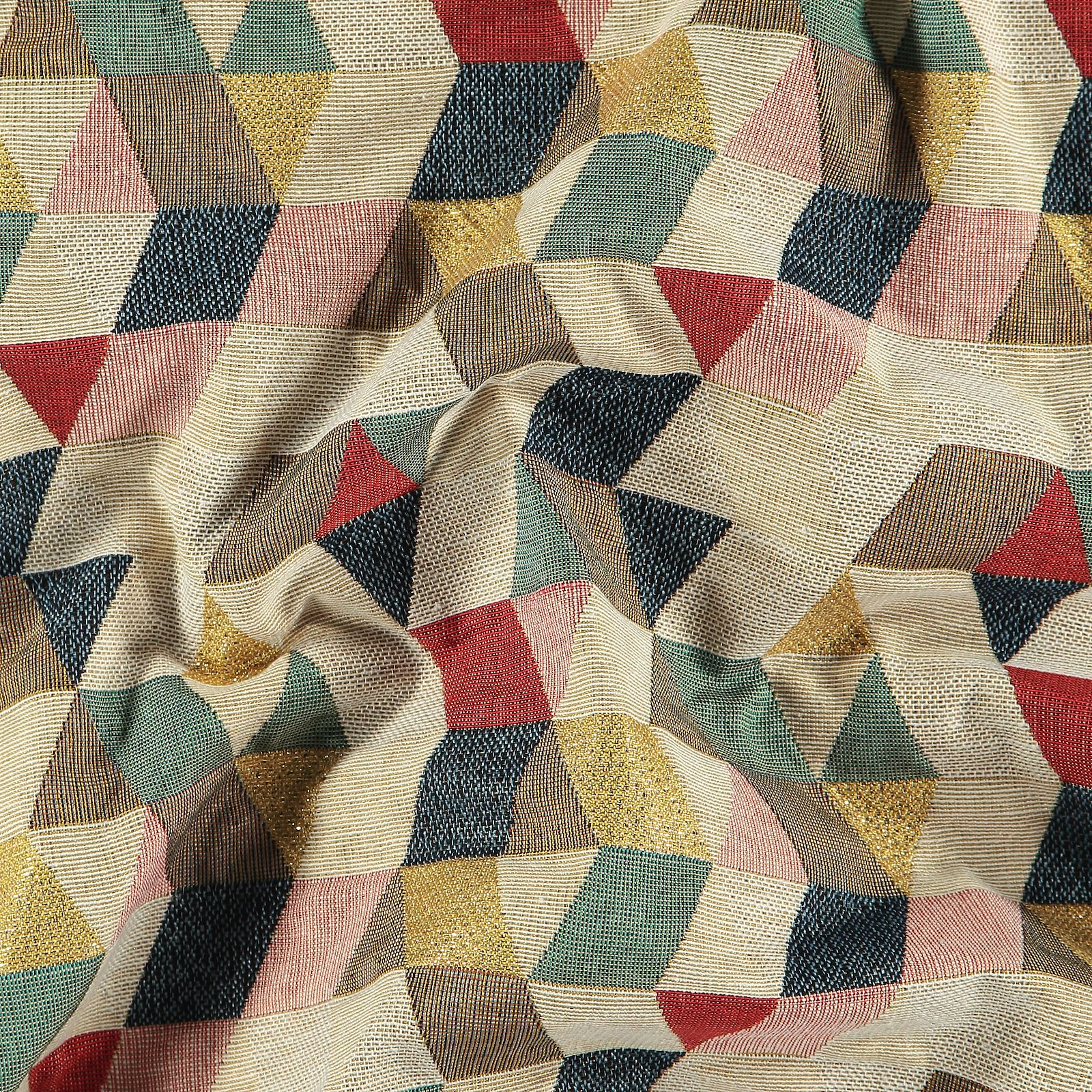 Jacquard multicolor abstract pattern