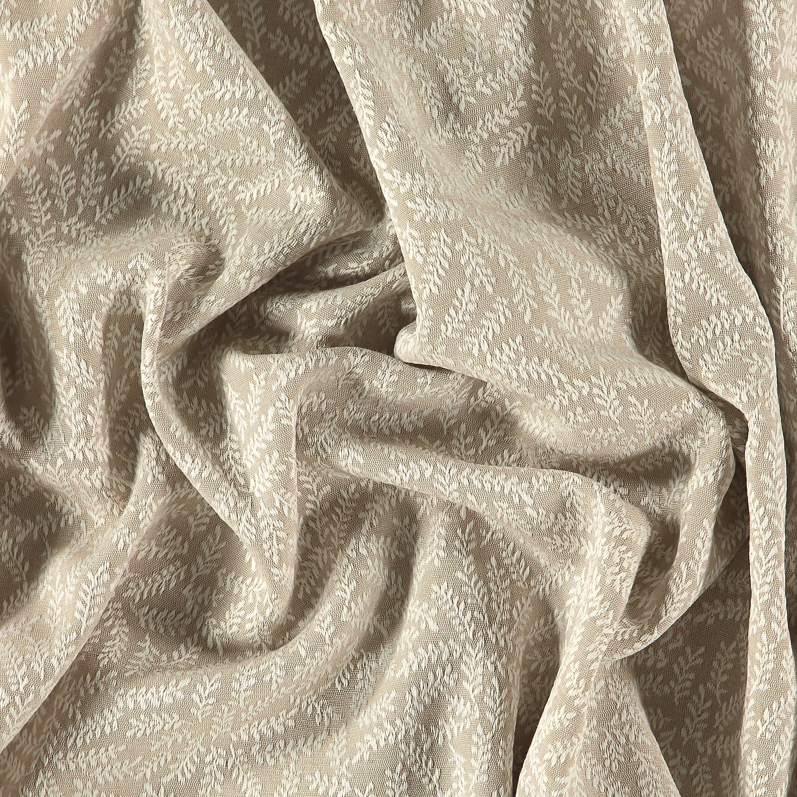 Jacquard putty w white branches