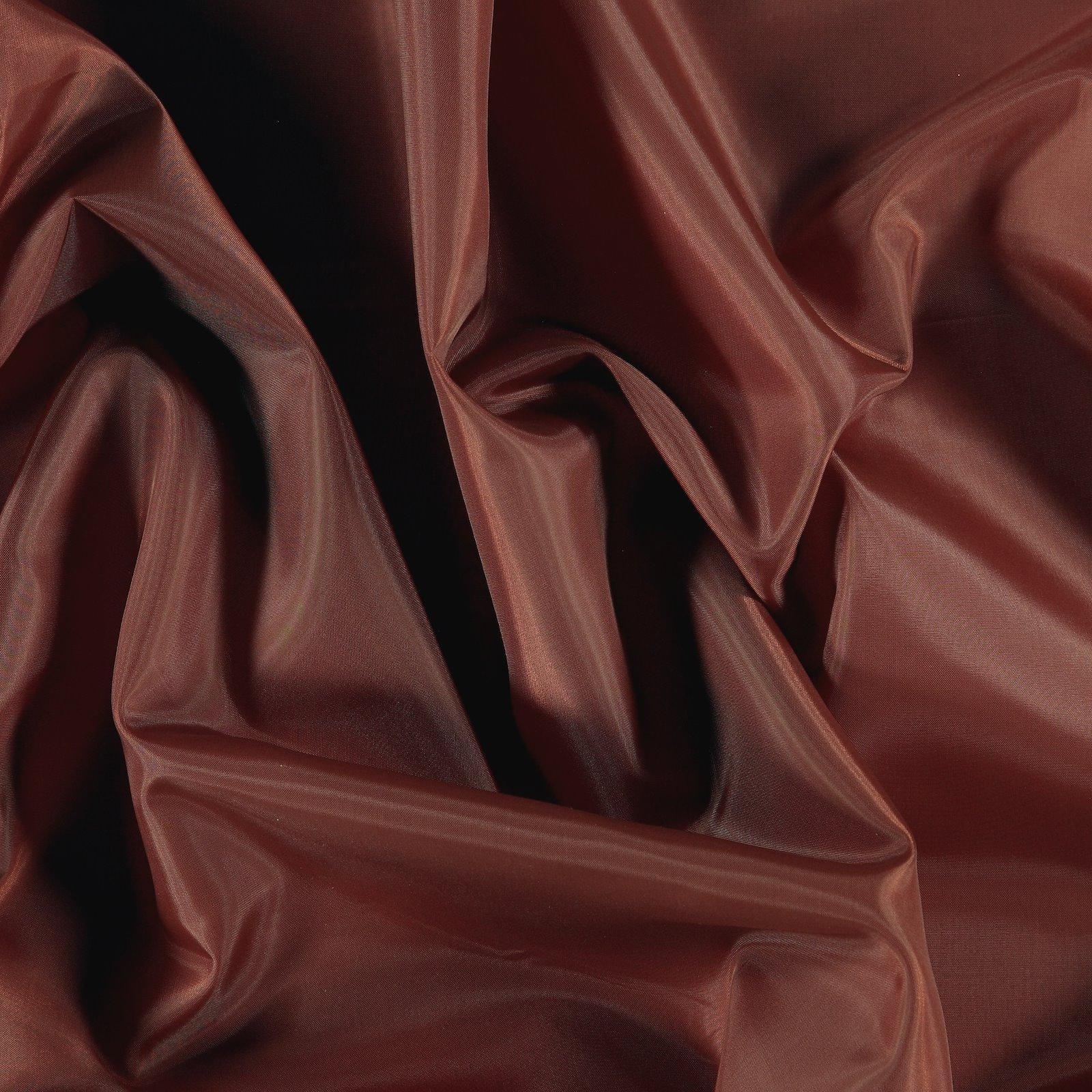 Polyester lining dark rouge