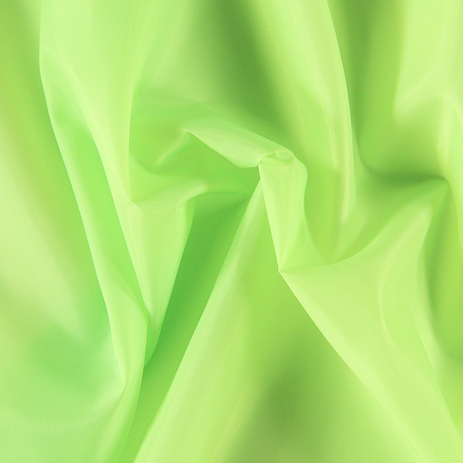 Polyester lining neon green