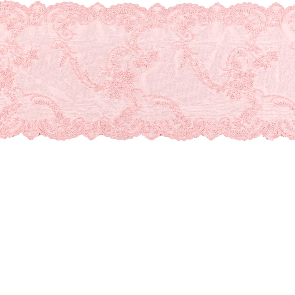 Lace mol rose w rose edging 35cm