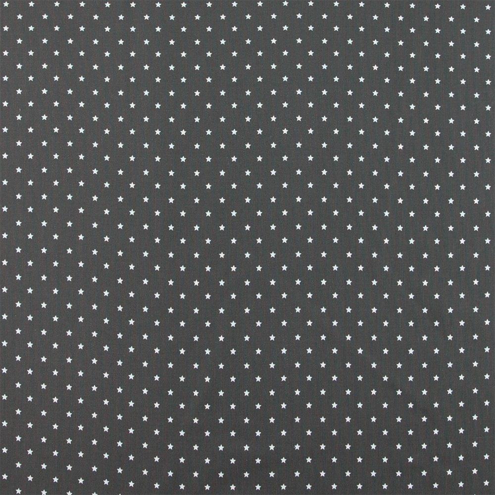 Half panama dark grey w stars