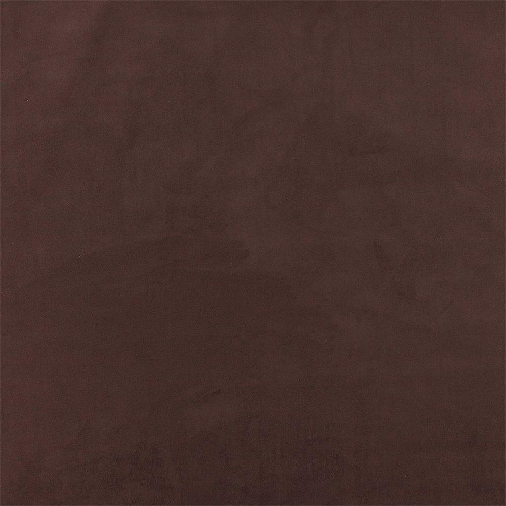 Upholstery fake suede dark brown
