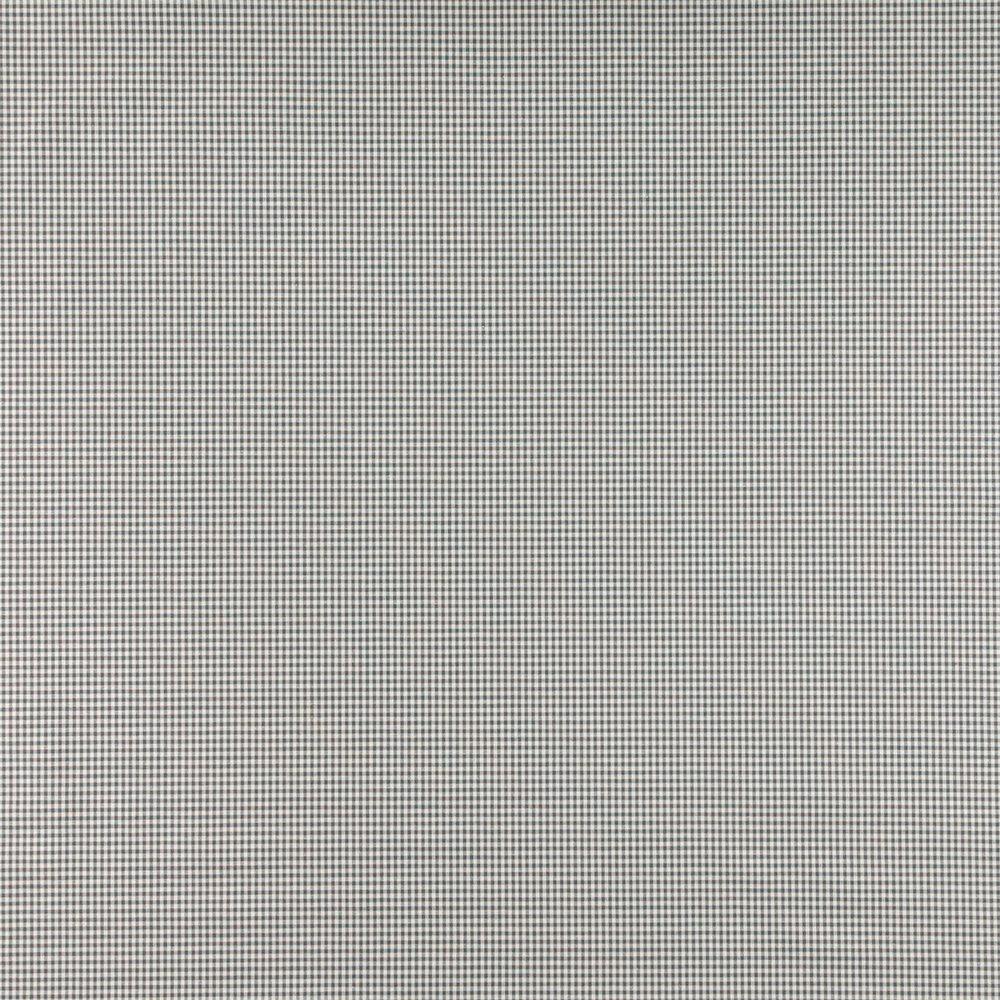 Yarn dyed grey small check
