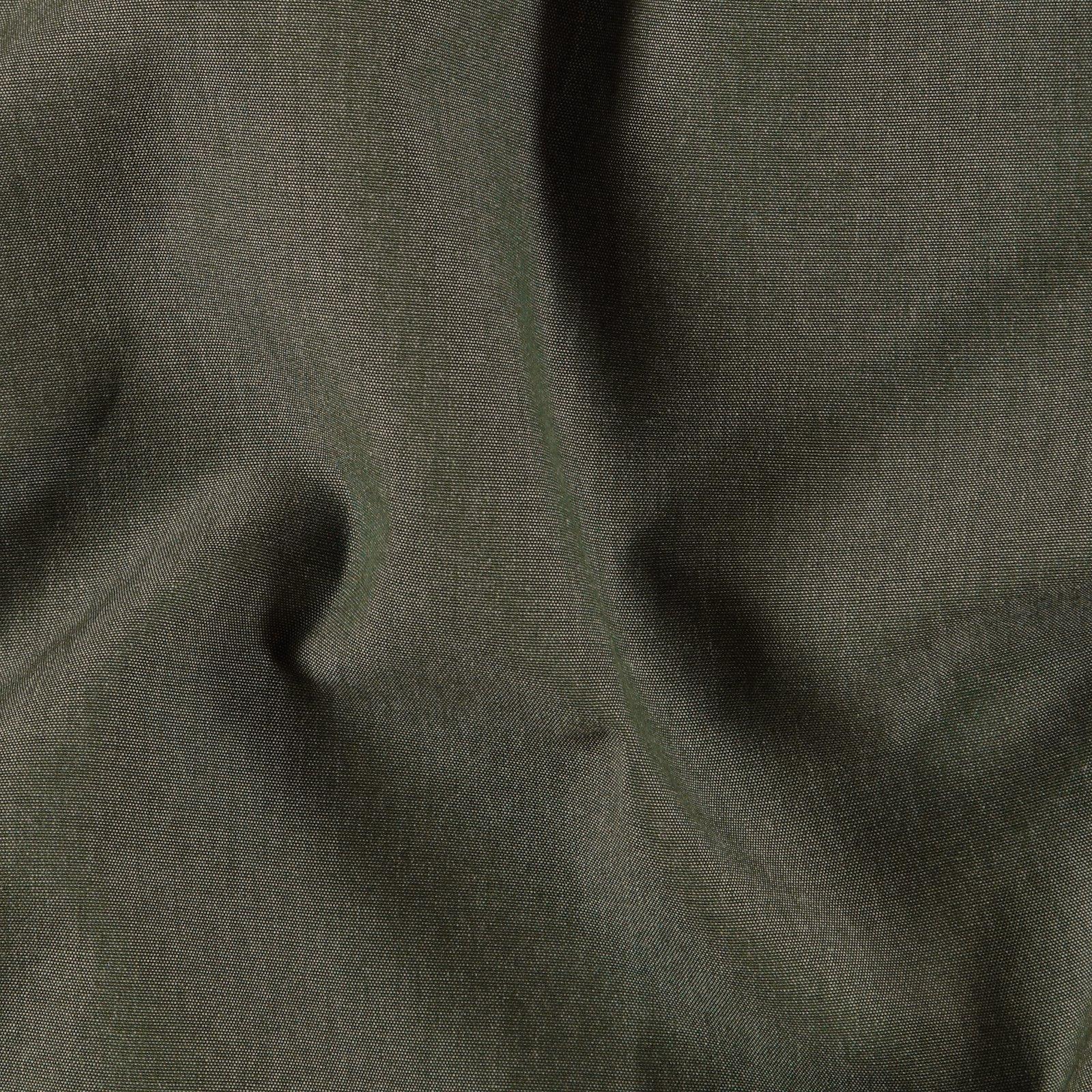 Dralon dark green melange Teflon coated
