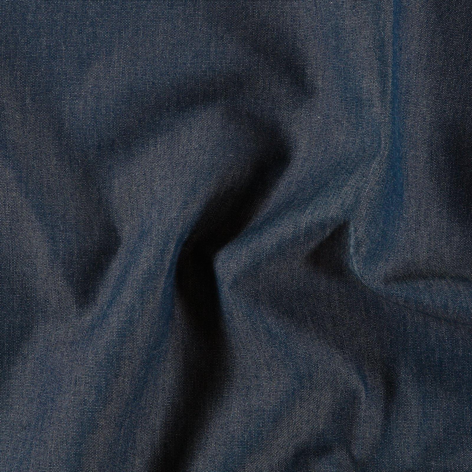 Dralon dark blue melange Teflon coated