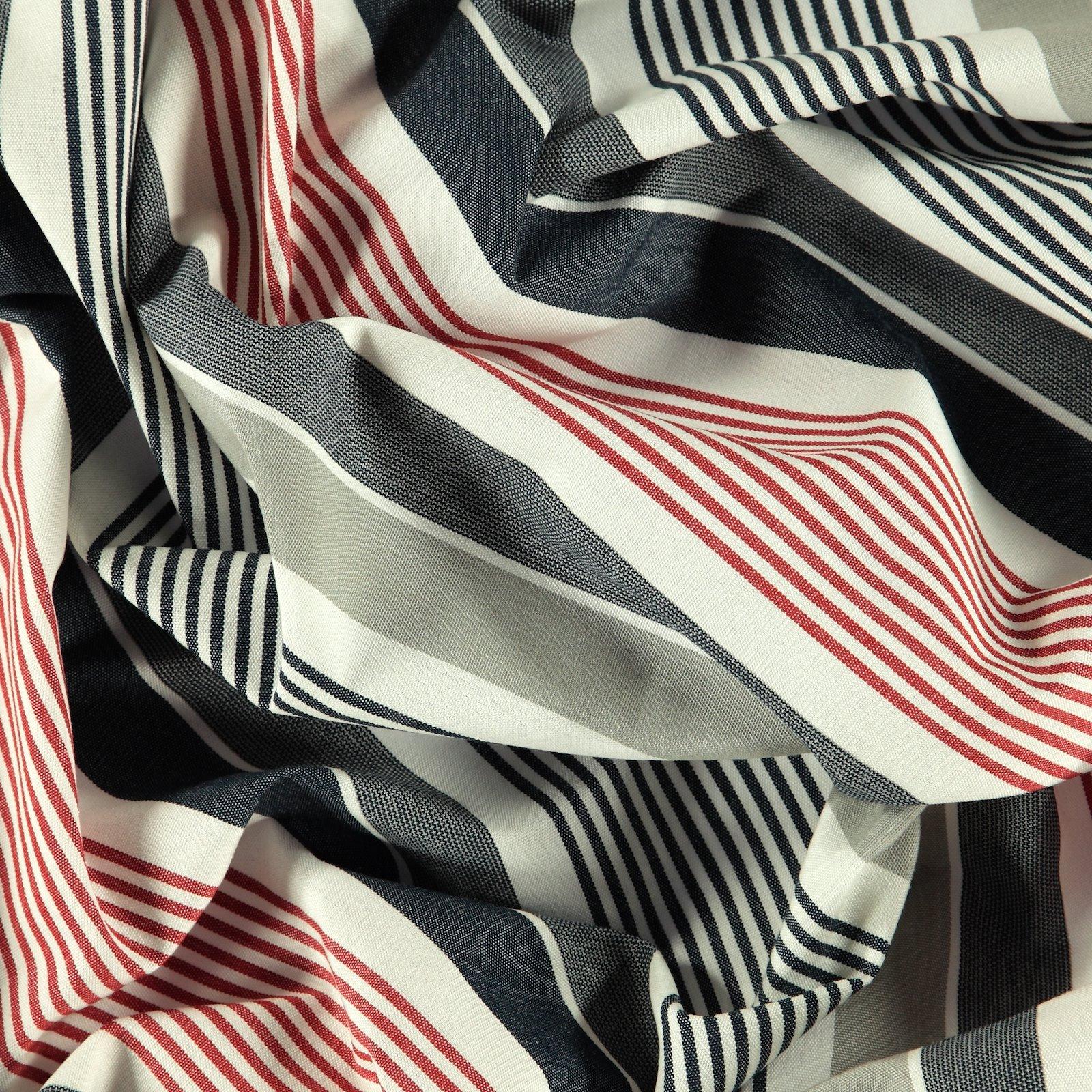 Dralon maritime striped Teflon coated