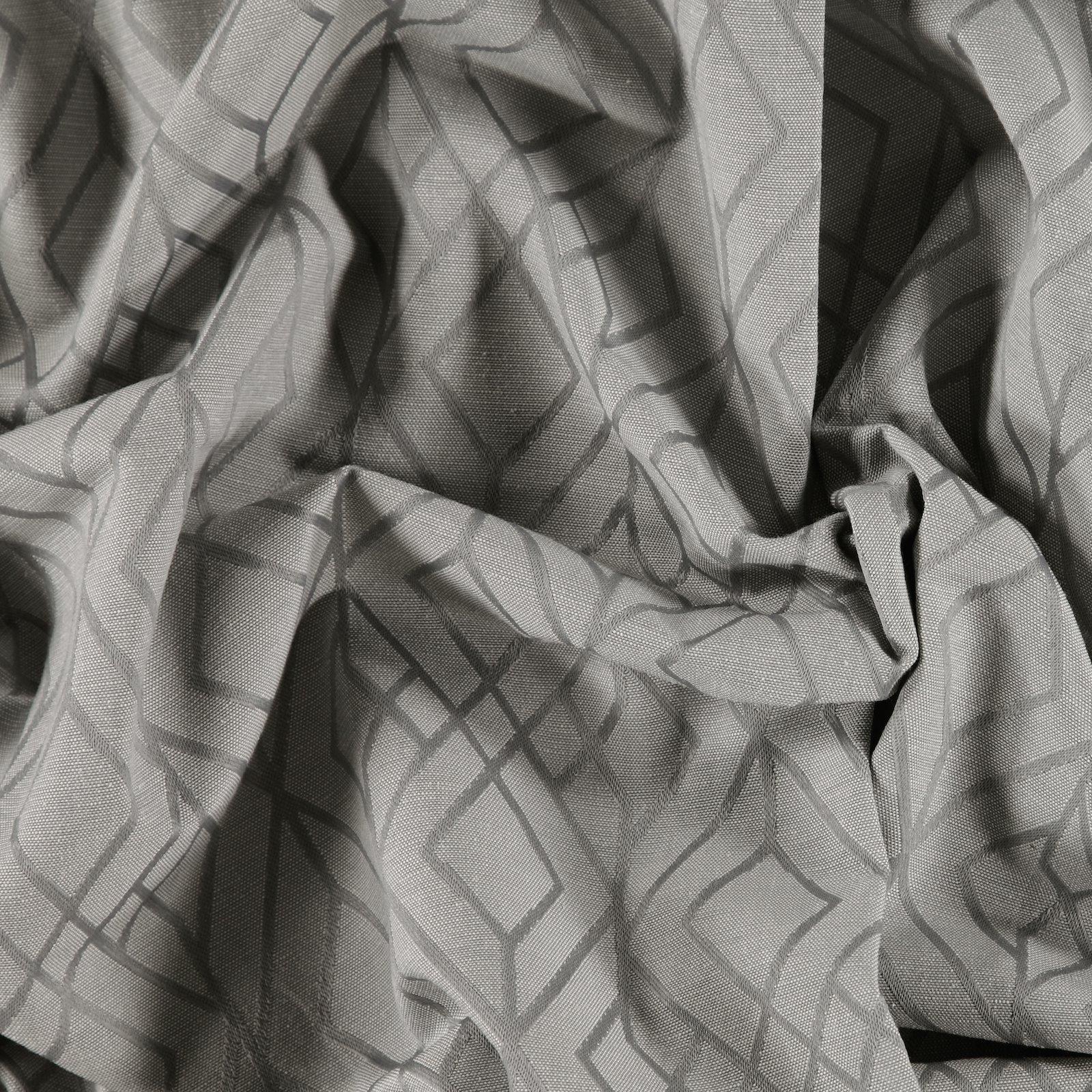 Yarn dyed grey with pattern