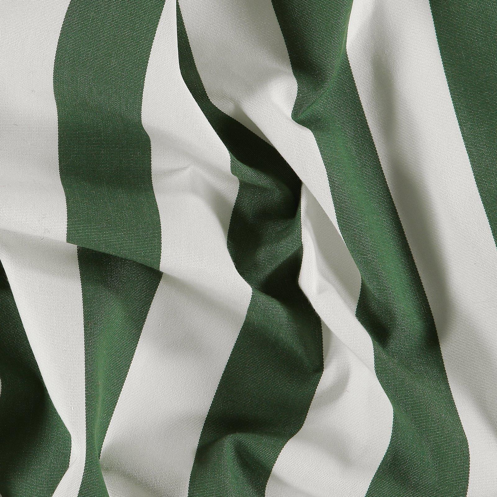 Dralon Off white /green stripe w Teflon