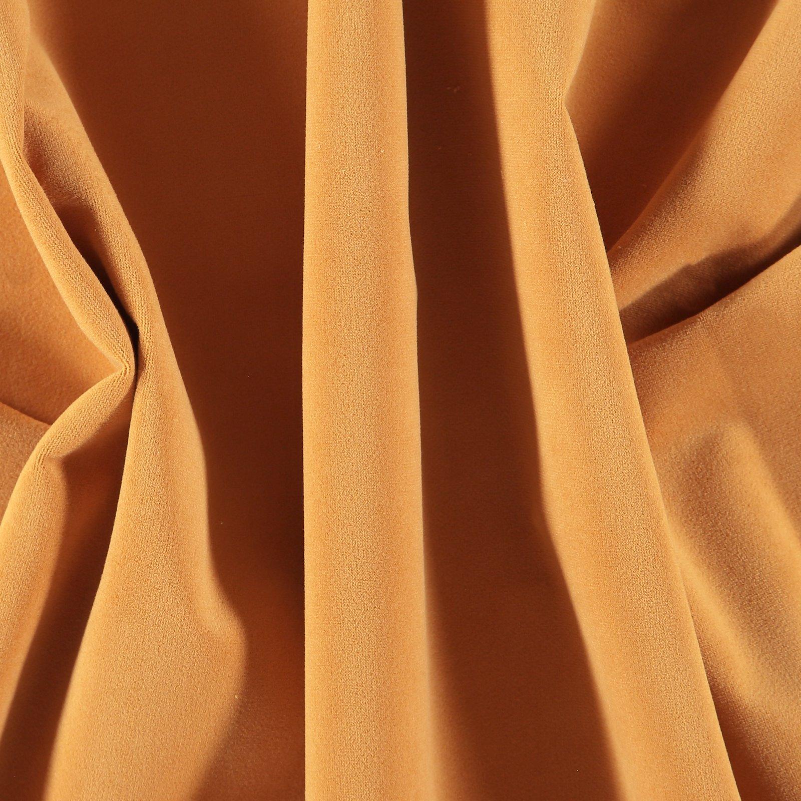 Upholstery velvet golden curry