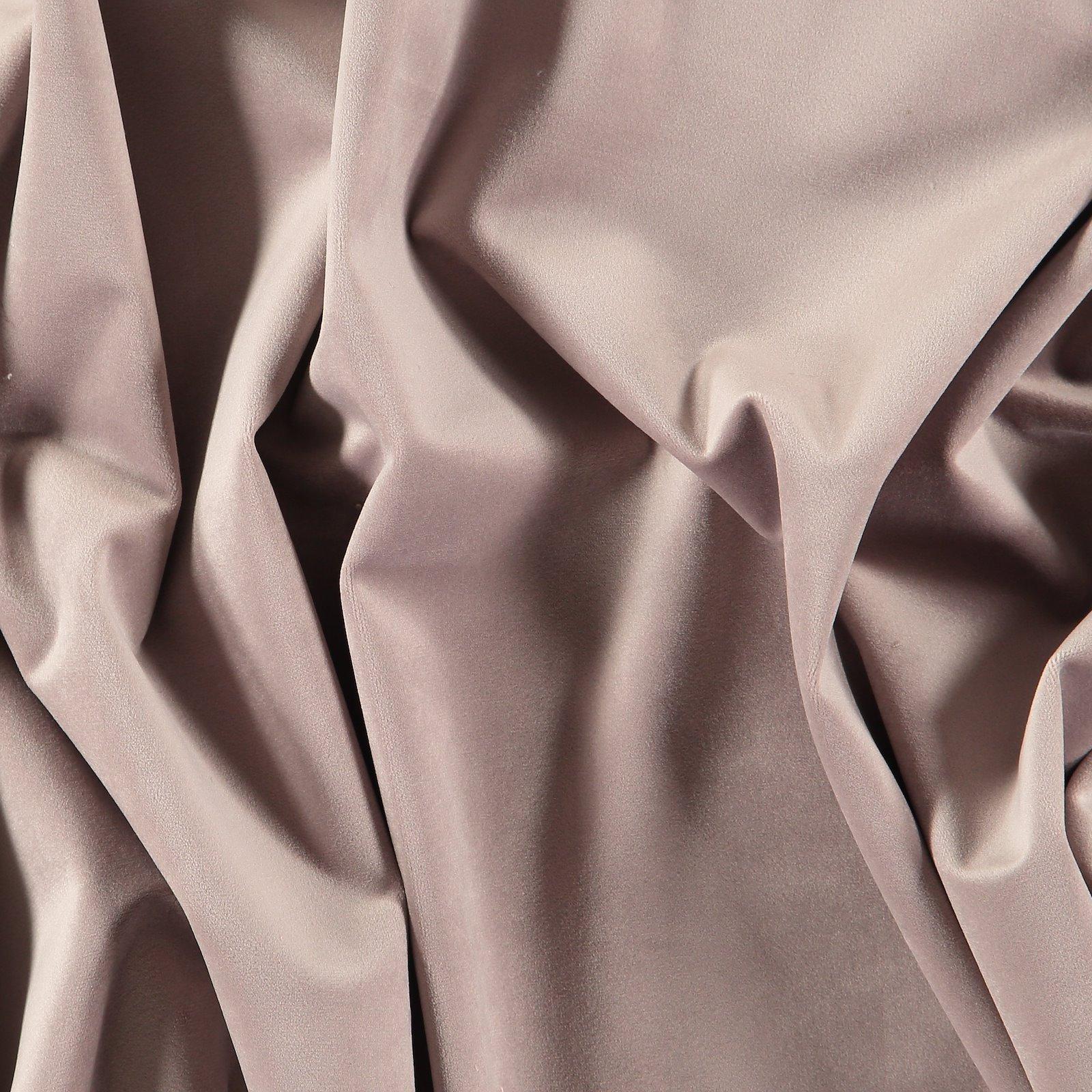 Upholstery shiny velvet dusty heather