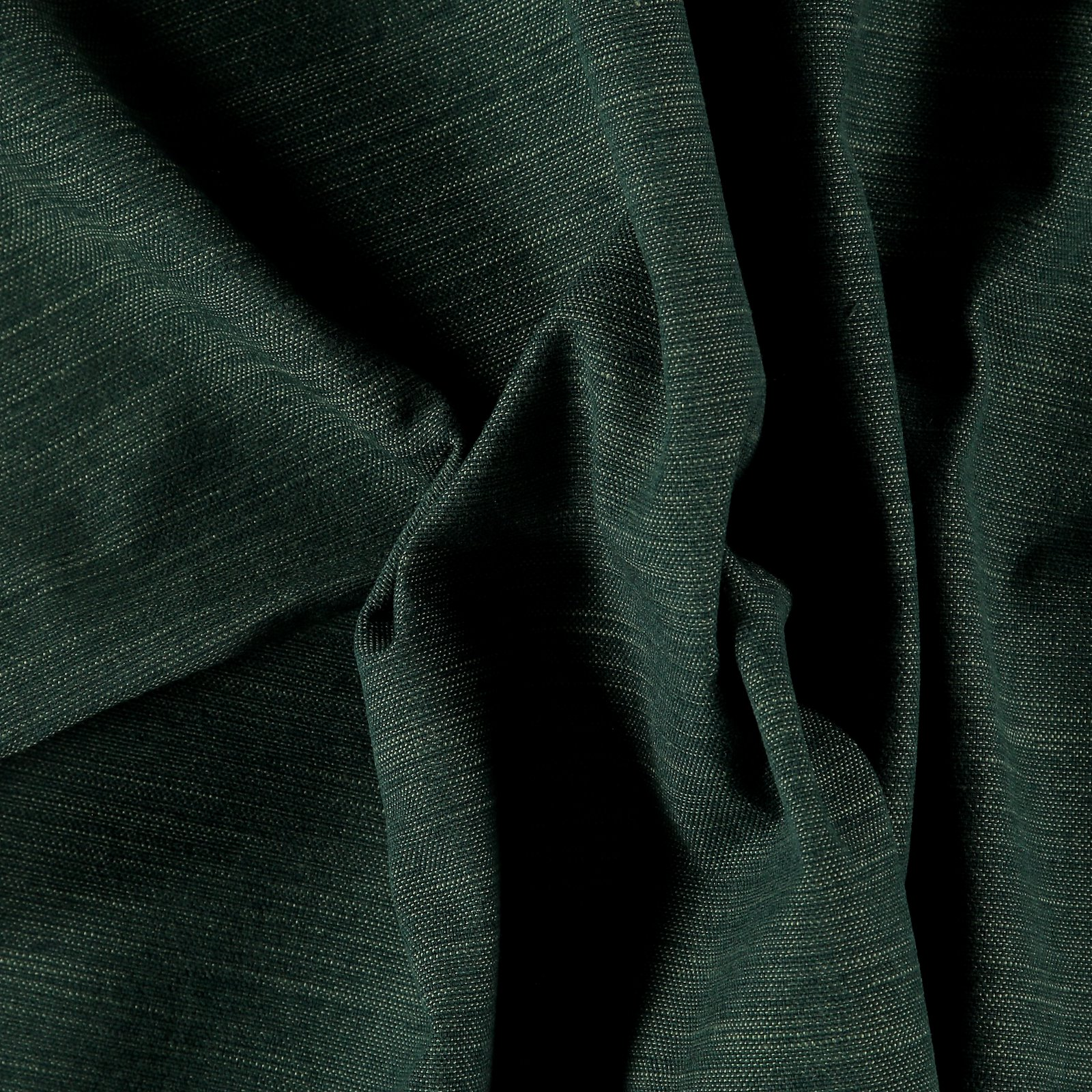 Recycled upholstery fabric green melange