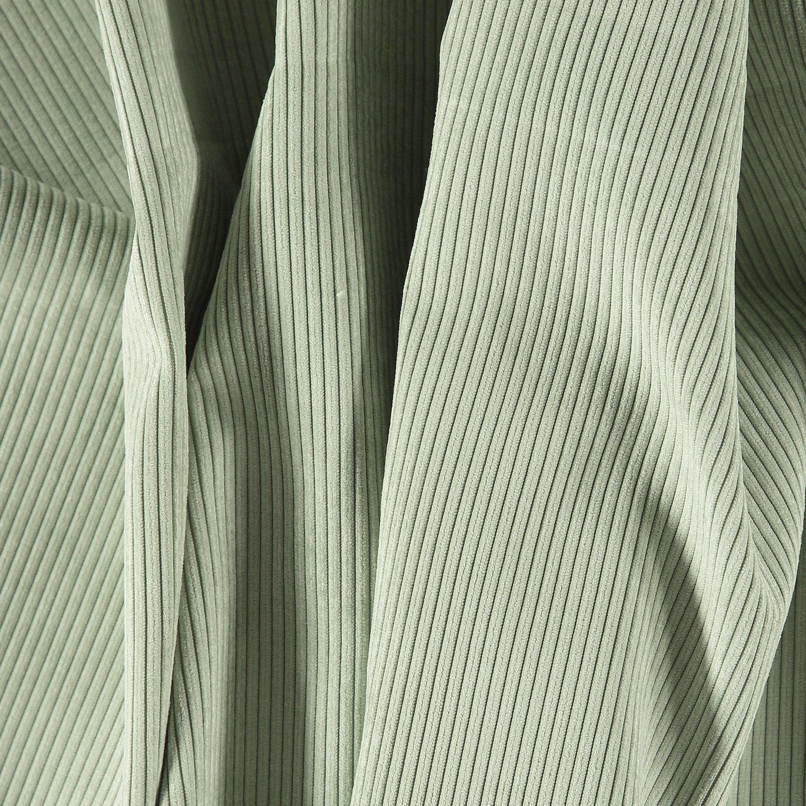 Upholstery corduroy 6 wales light sage
