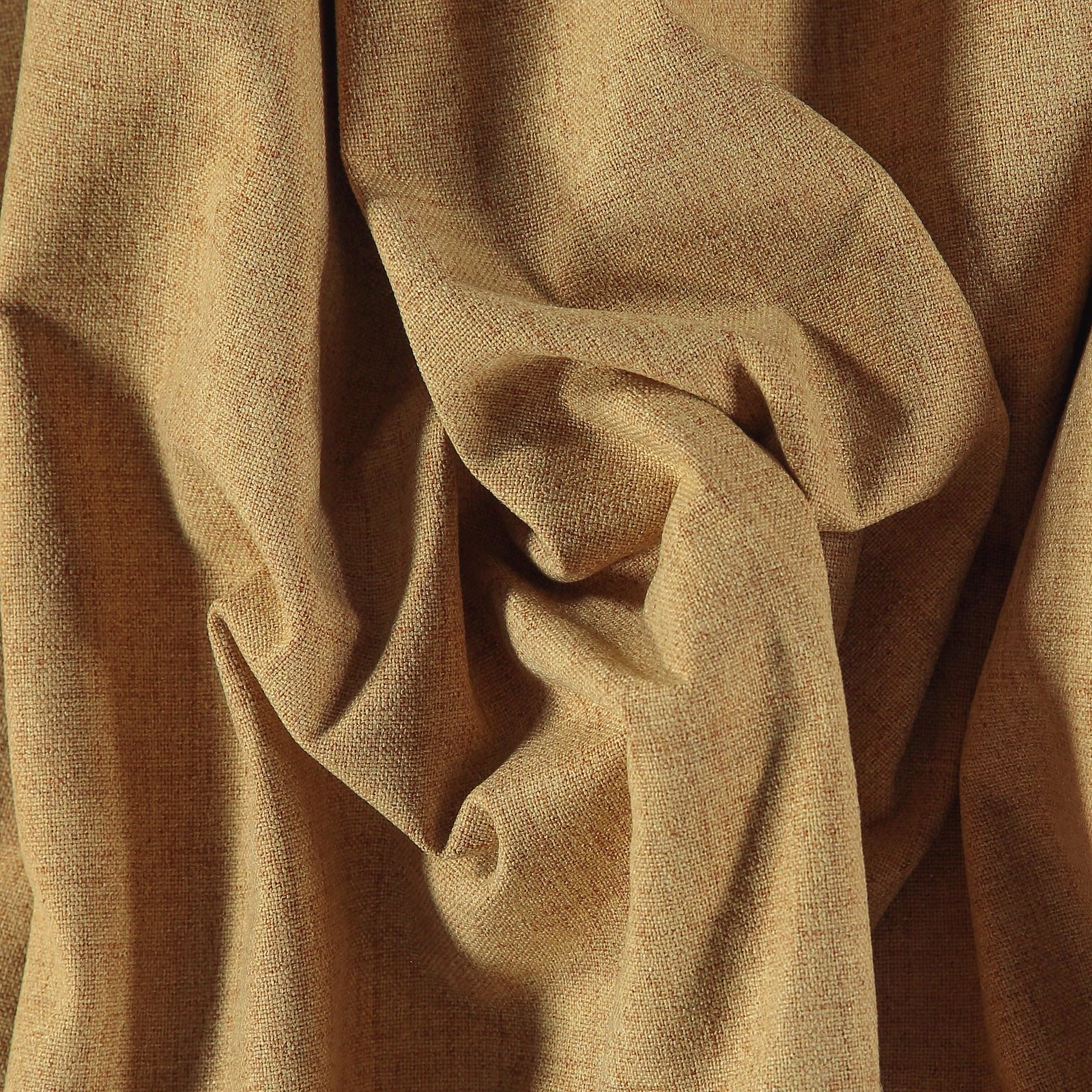 Upholstery fabric w/backing warm curry