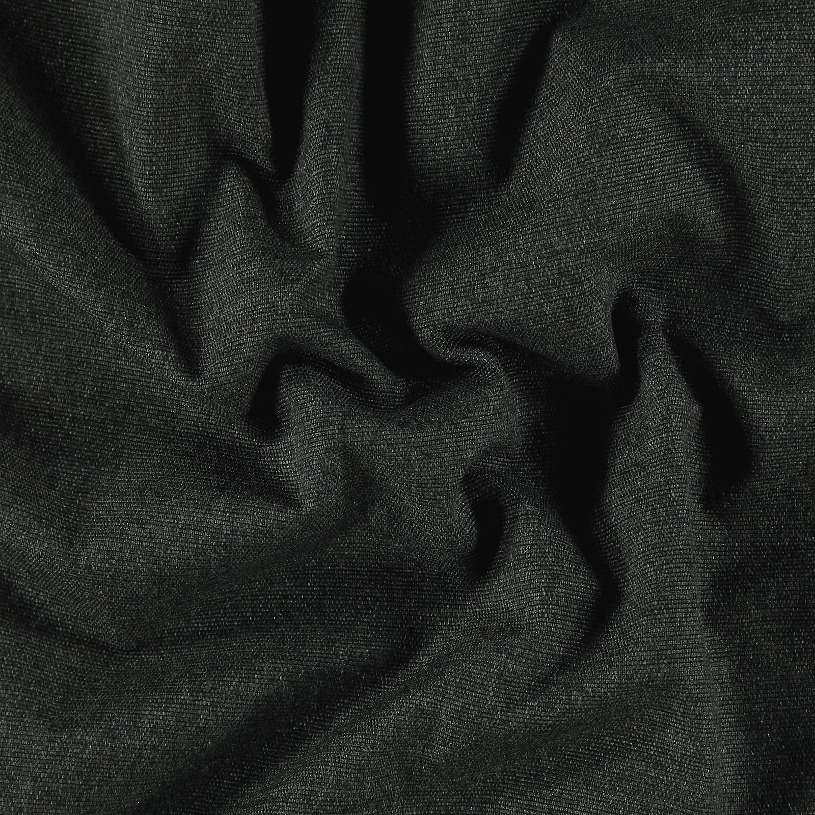 Upholstery fabric dark grey w/backing