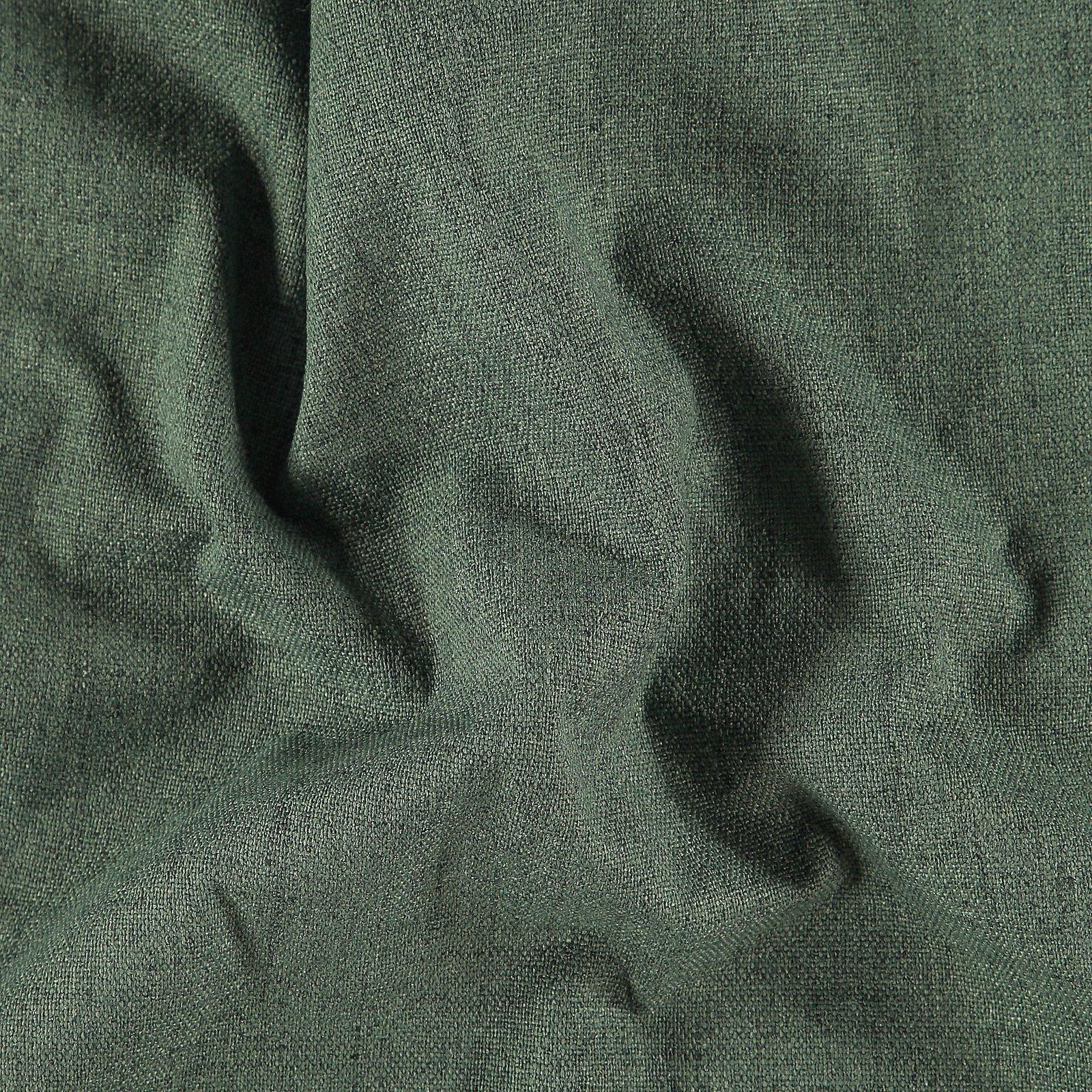 Upholstery fabric dark green w/backing