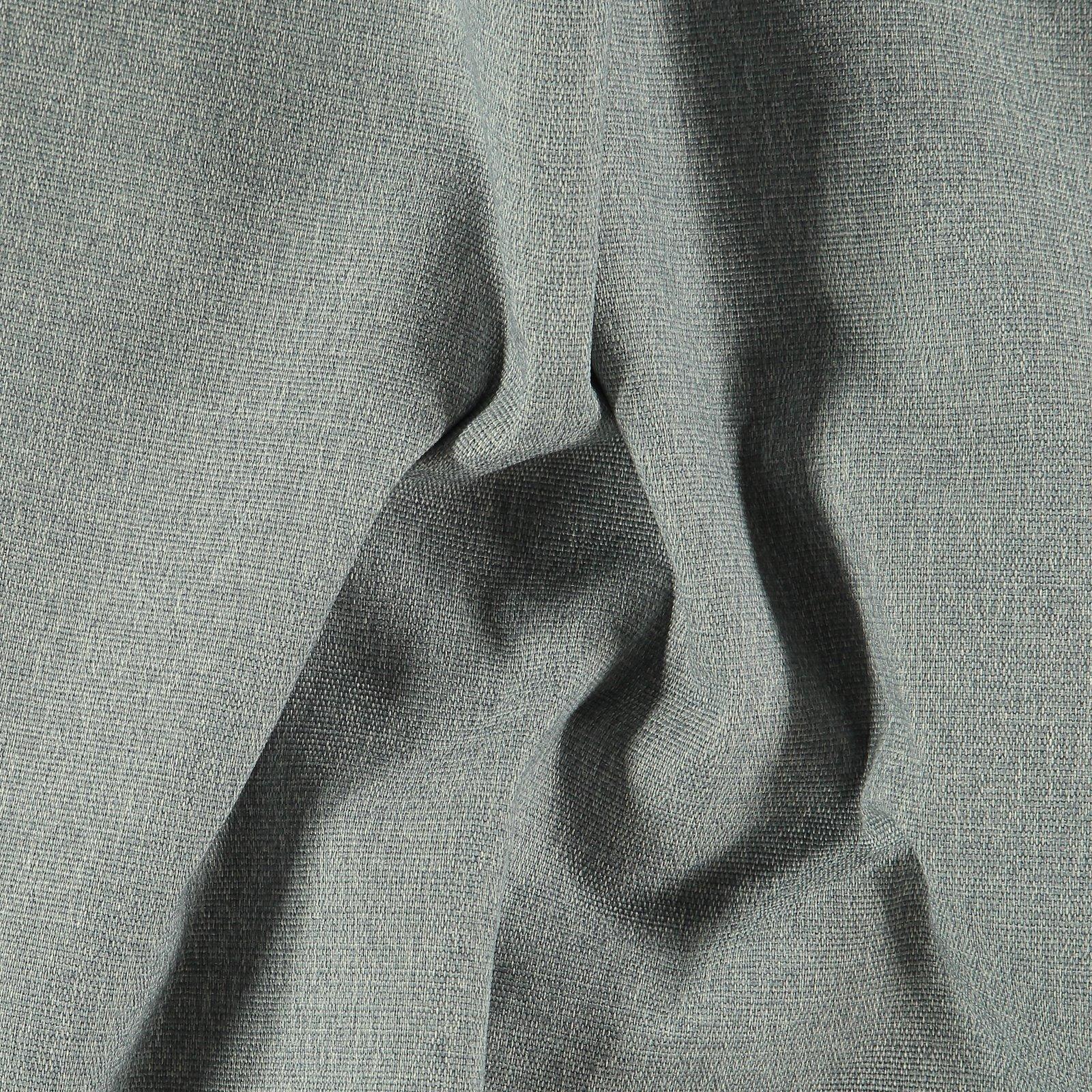Upholstery fabric grey w/white backing