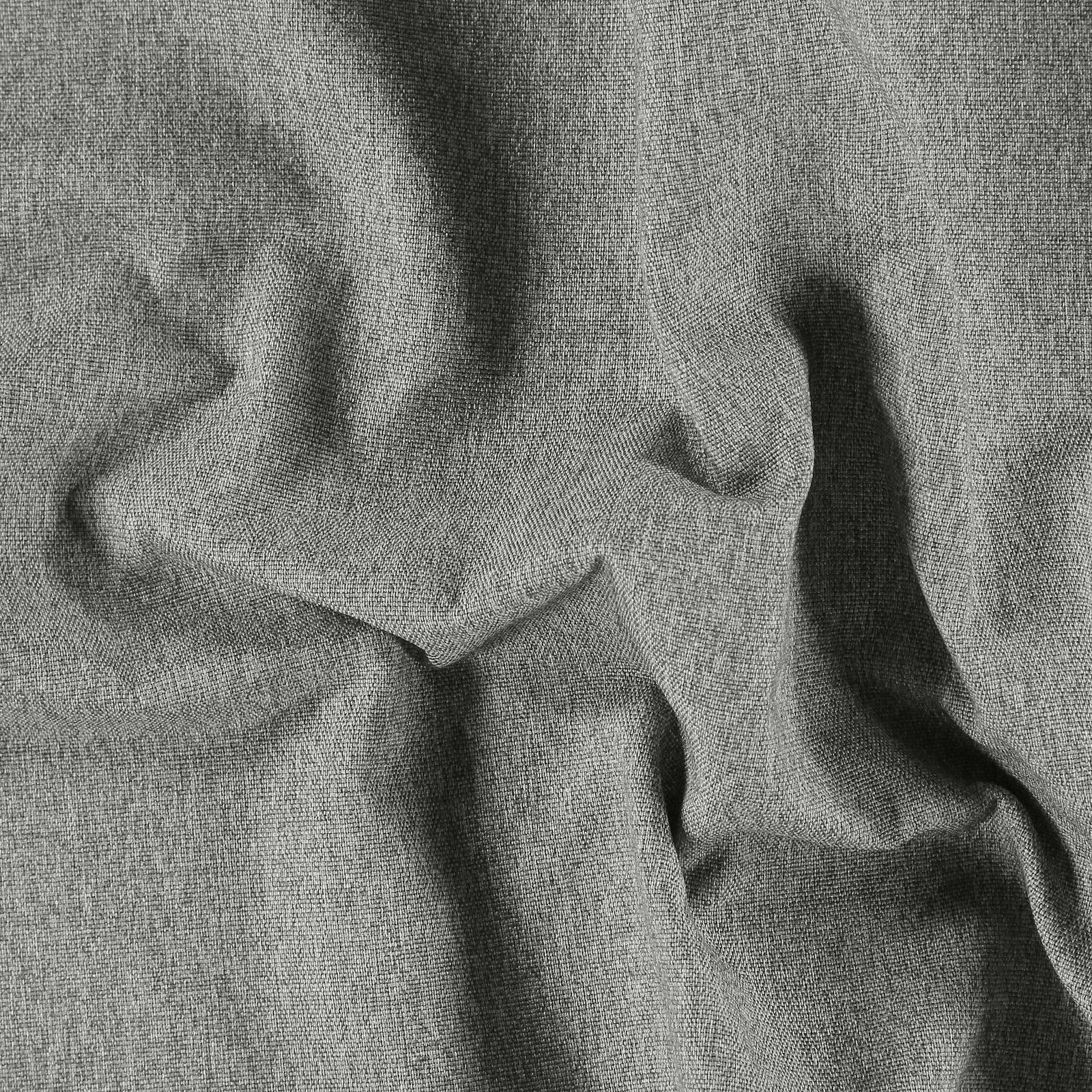 Upholstery fabric steel grey w/backing