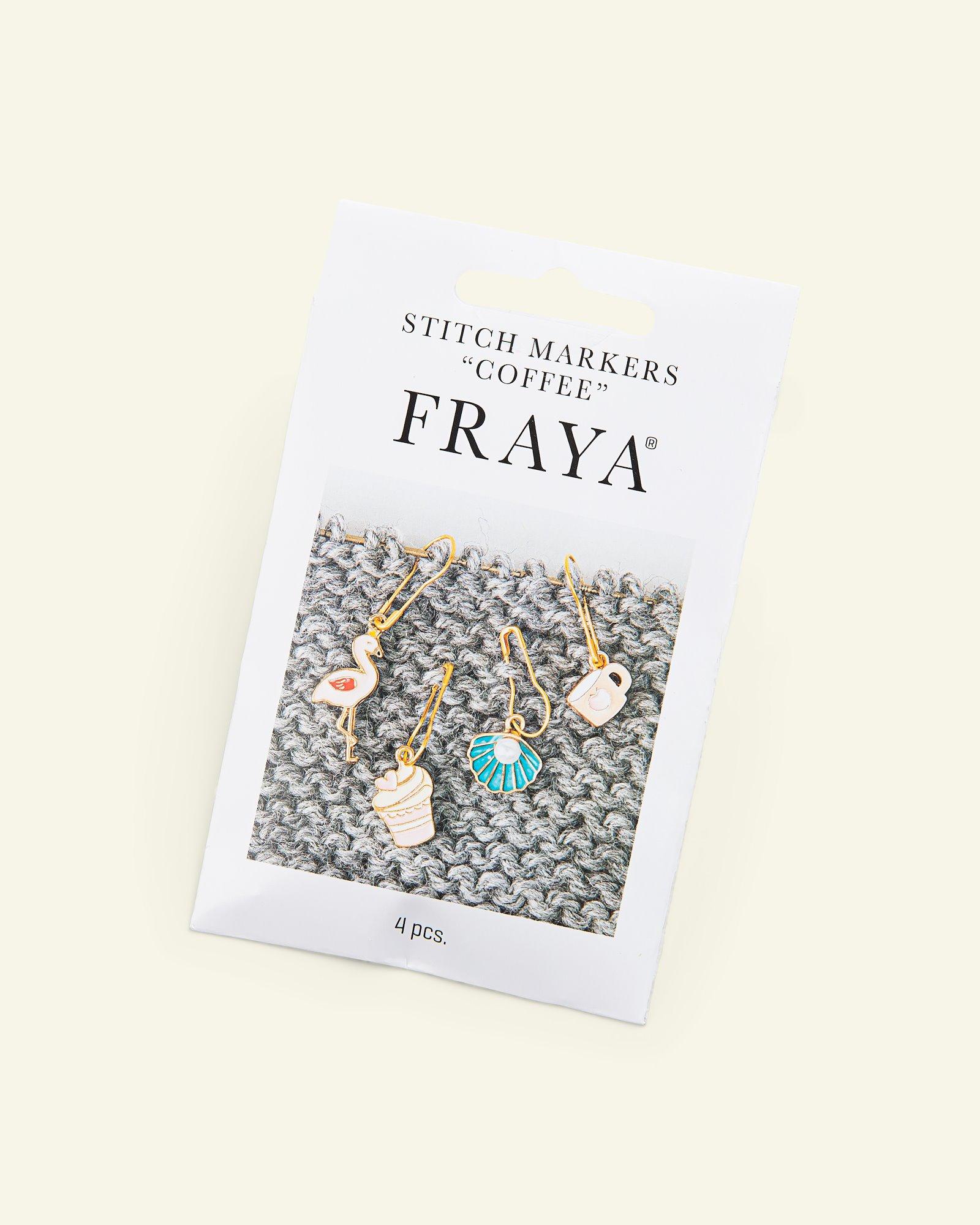 """FRAYA Stitch markers """"Coffee"""" 4pcs"""