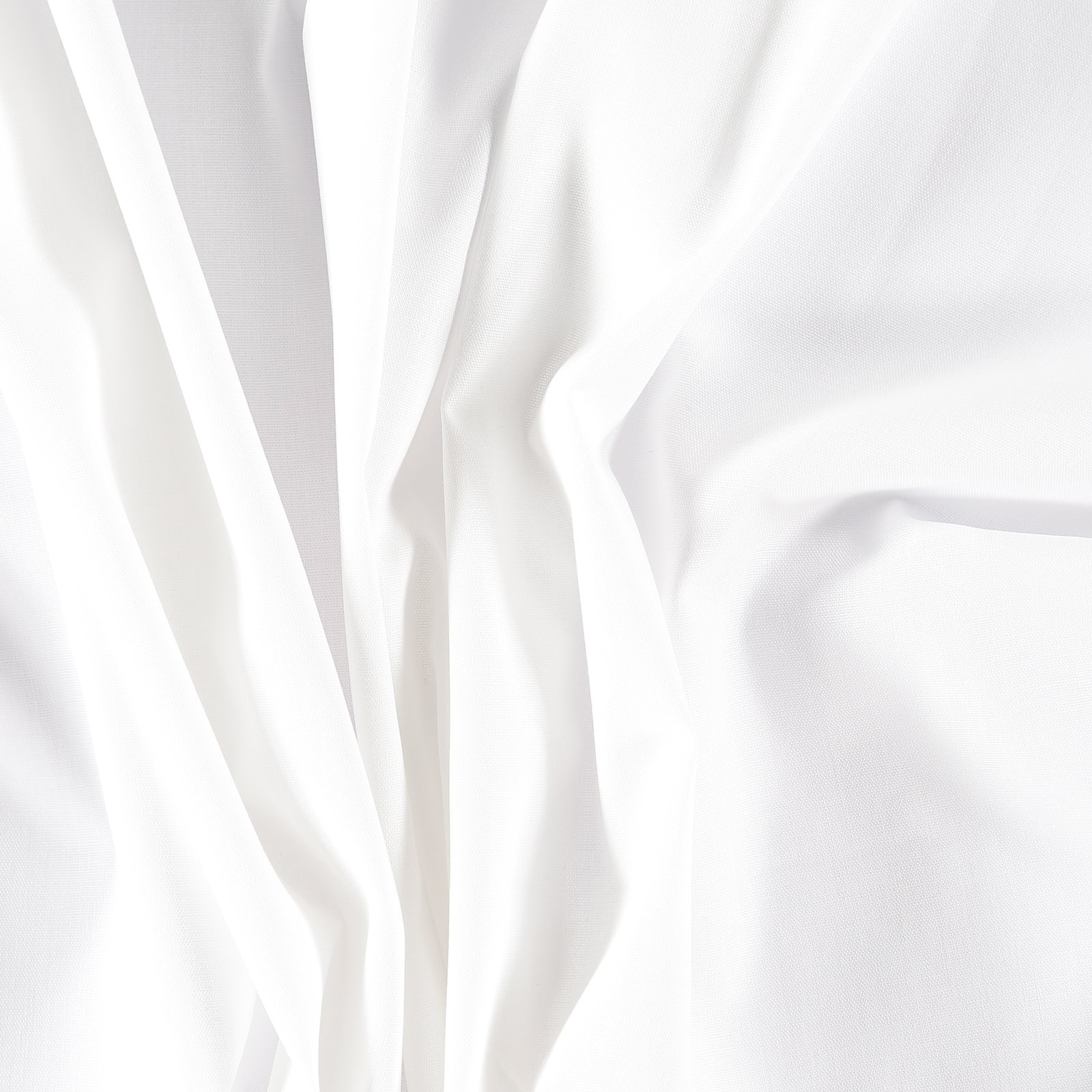 Light woven cotton white