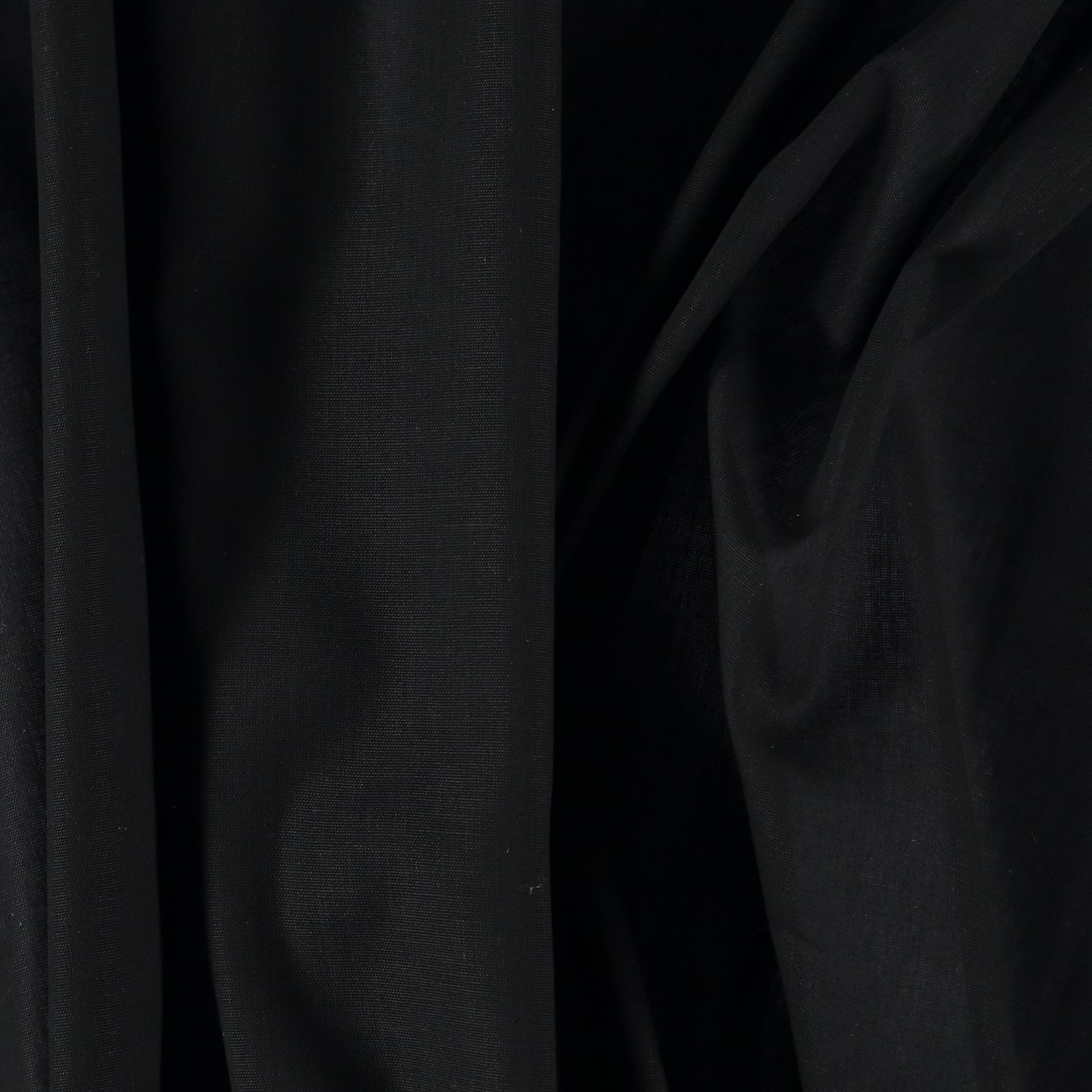 Light woven cotton black