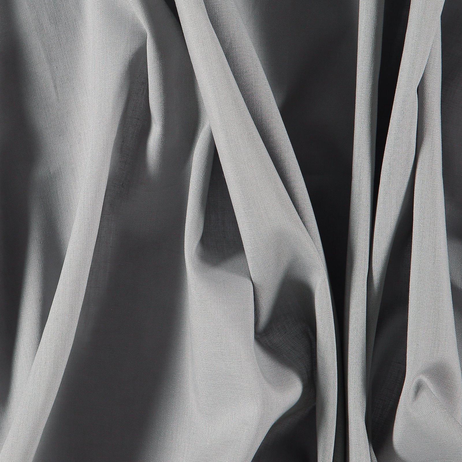 Light woven cotton grey