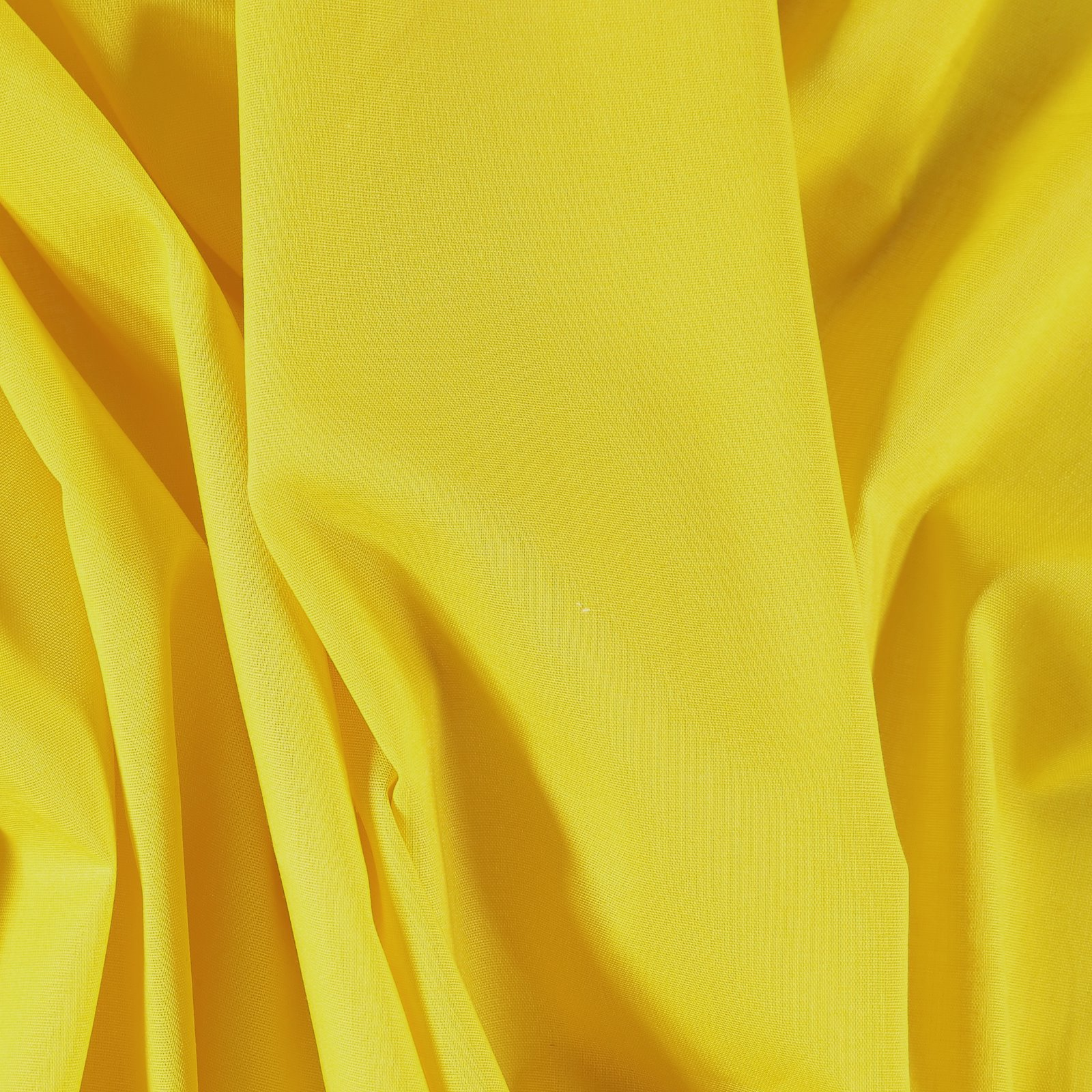 Light woven cotton yellow