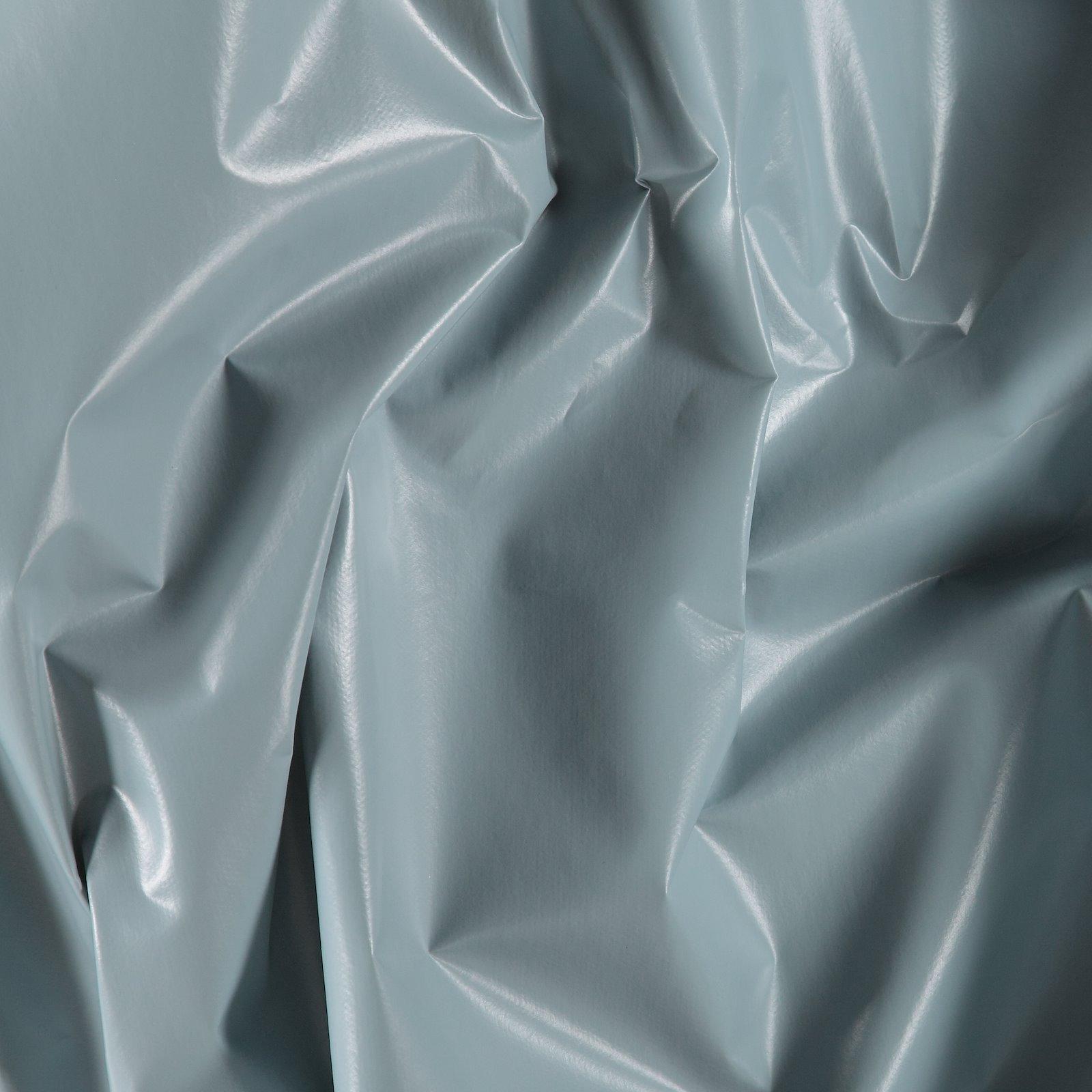 Non-woven oilcloth dusty blue