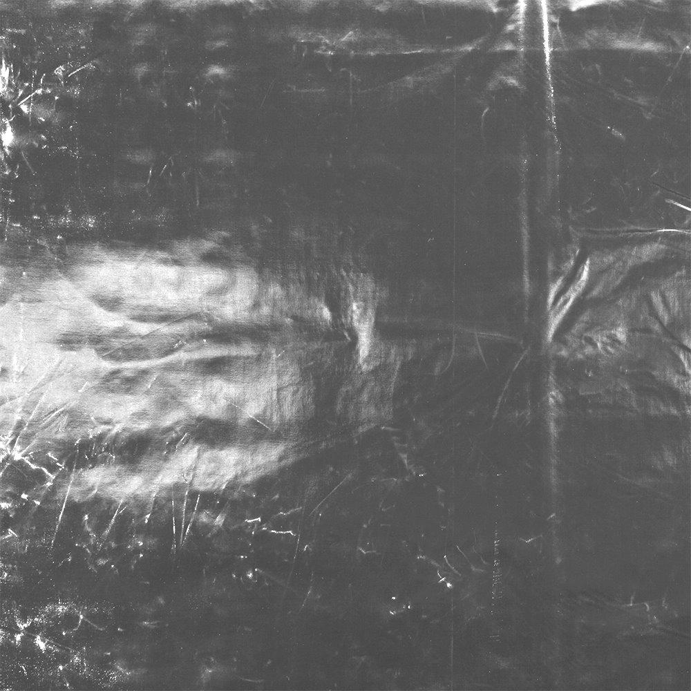 Woven viscose w silver foil
