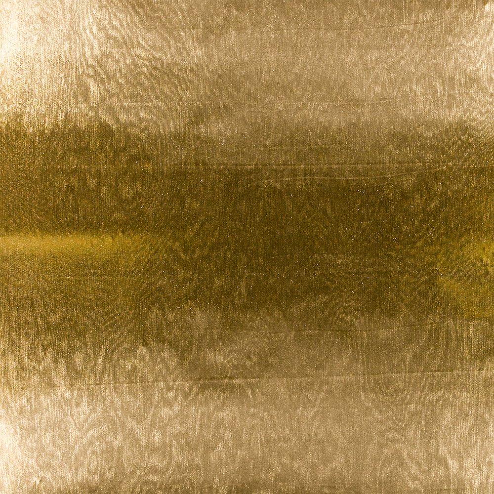Knit polyester w gold foil