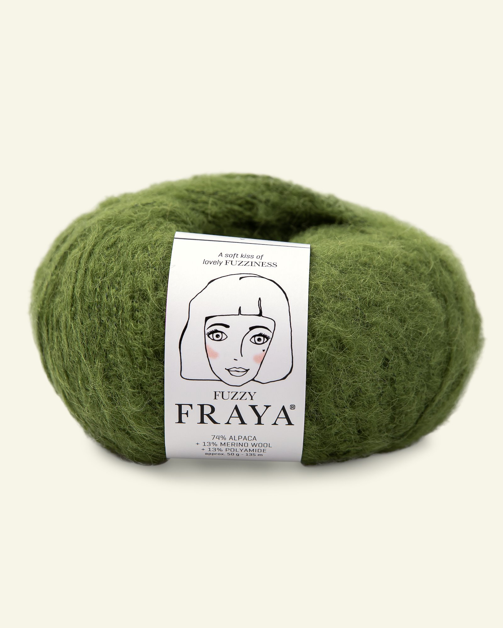 Fuzzy 50g bright green