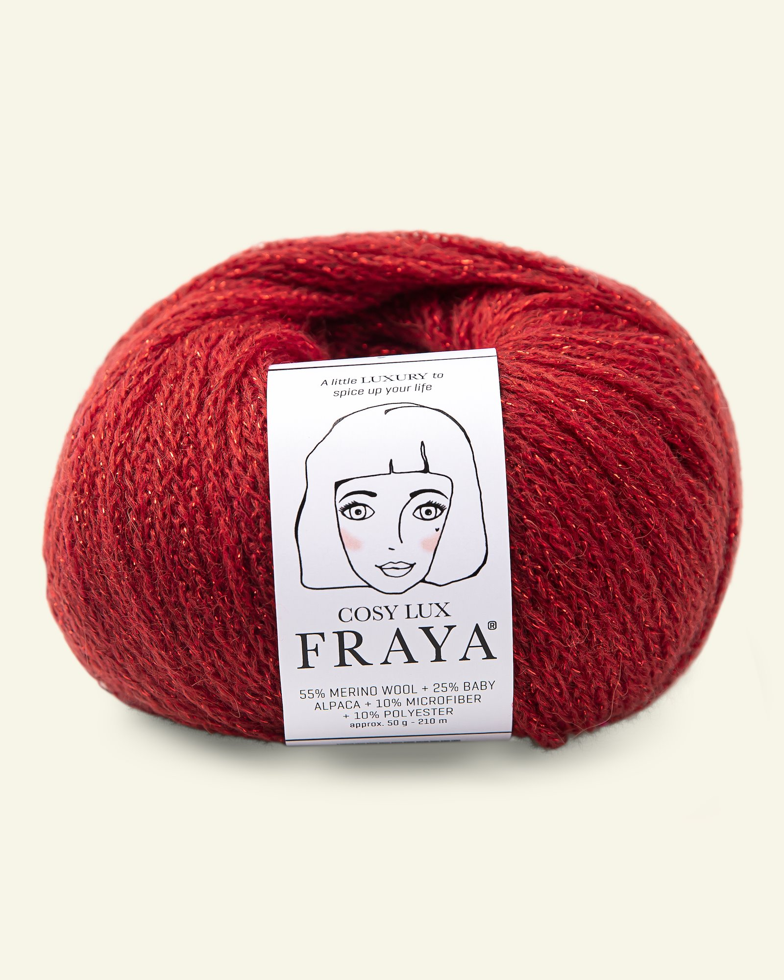 Cosy Lux 50g red