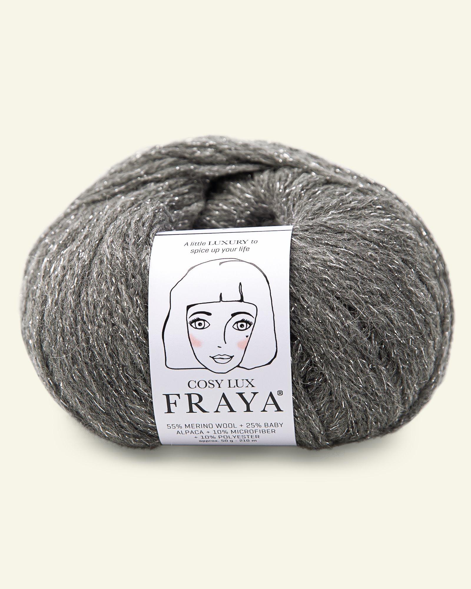 Cosy Lux 50g silver-grey