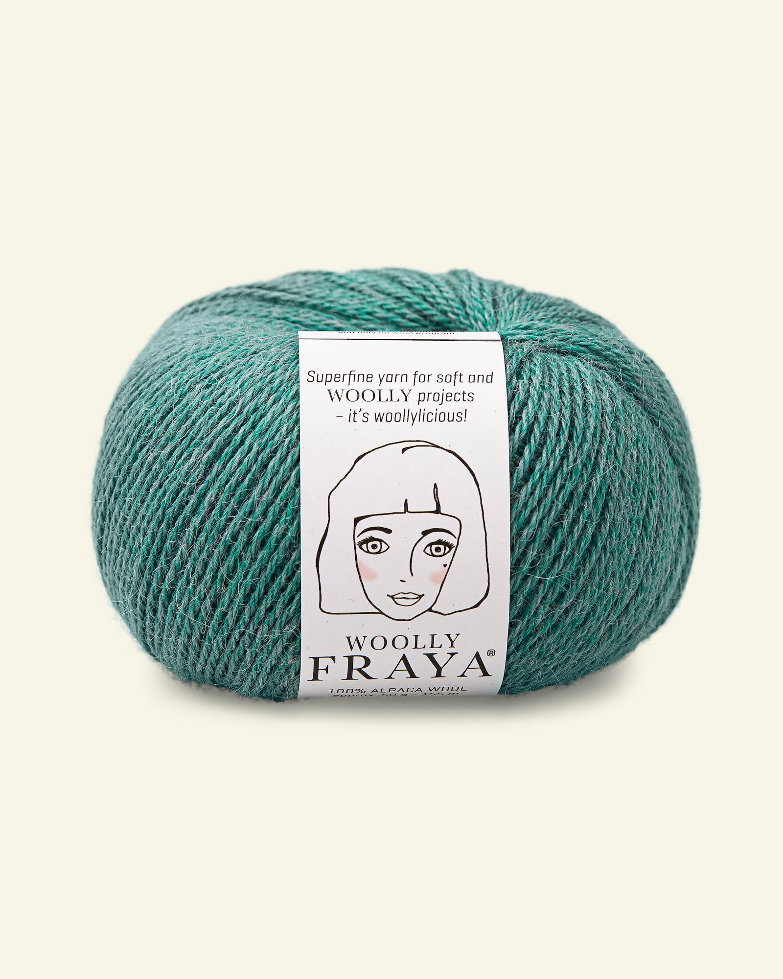 Woolly 50g, Aqua Melange