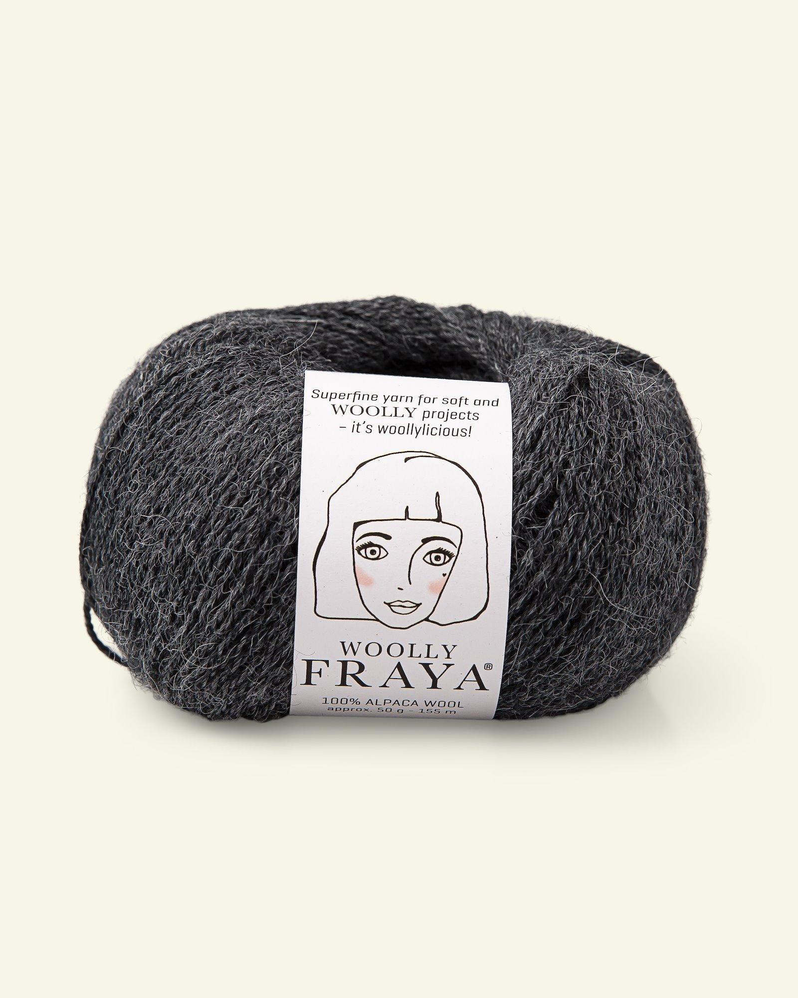 Woolly 50g, Grau Melange